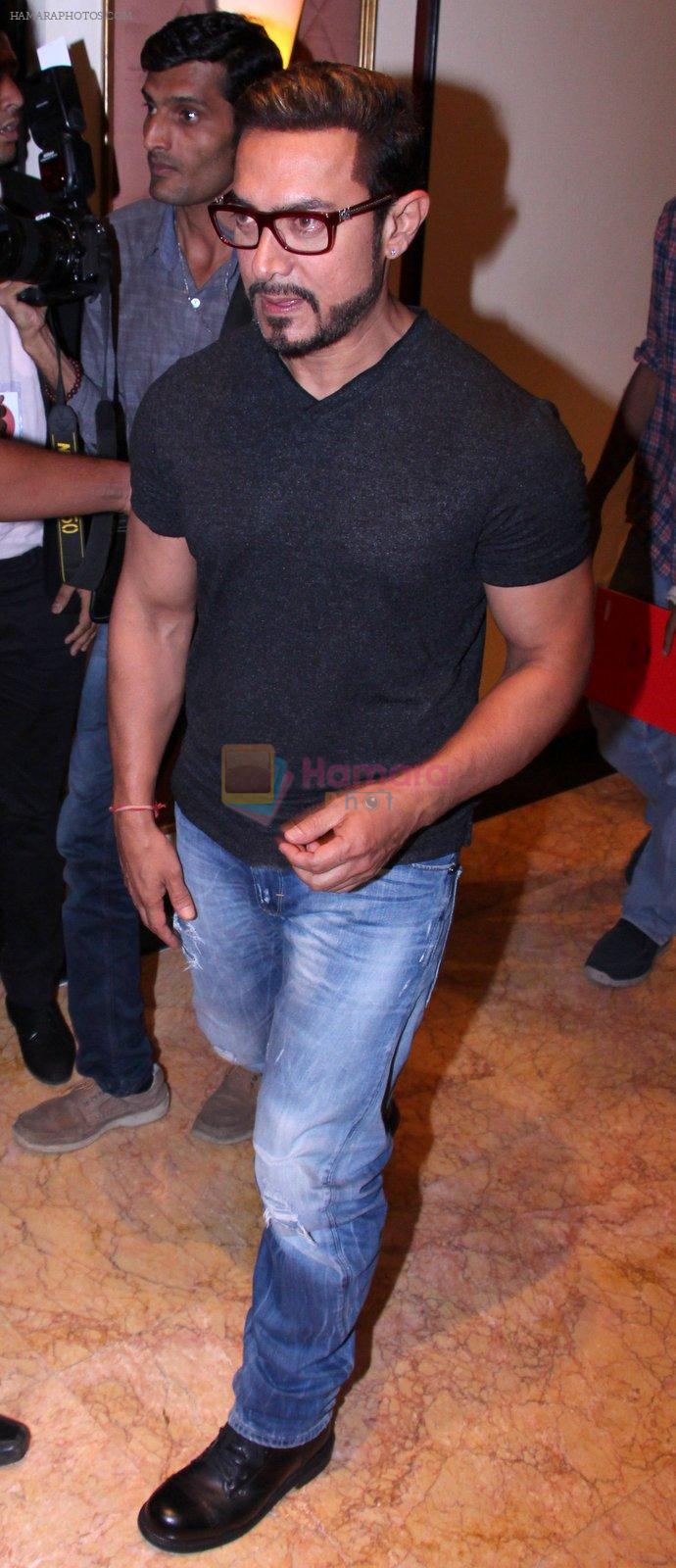 Aamir Khan at the launch of Global Citizen India on 11th Sept 2016