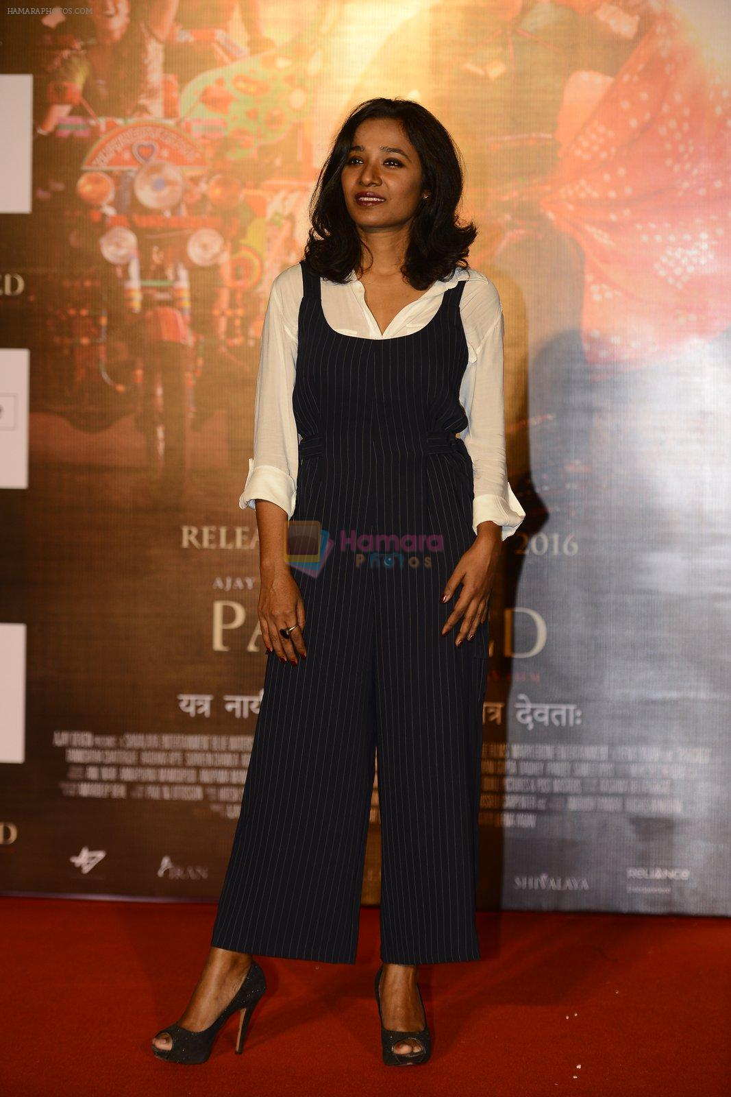 Tannishtha Chatterjee at Ajay devgan's parched press meet