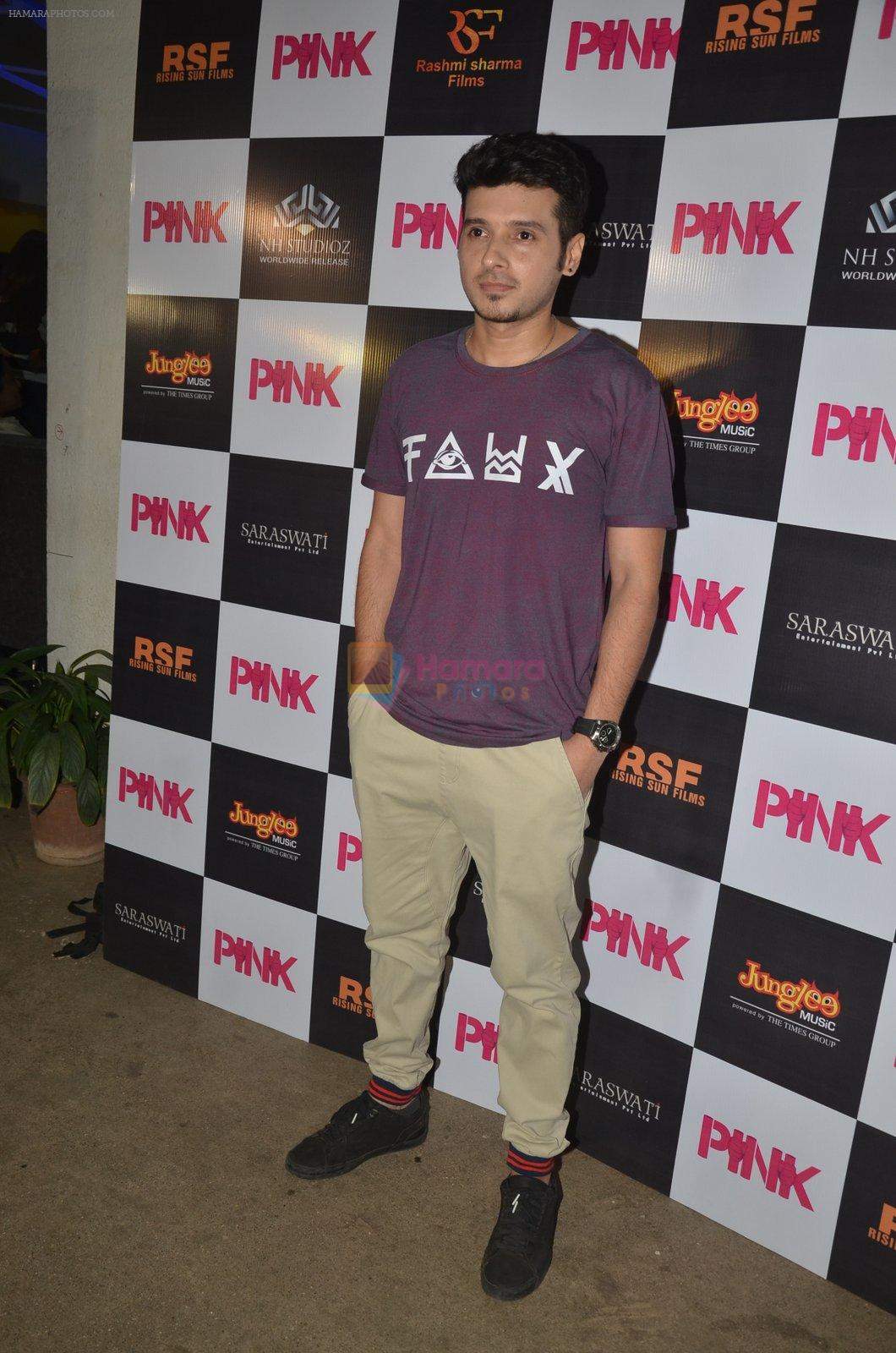 at Pink Screening in Sunny Super Sound on 12th Sept 2016