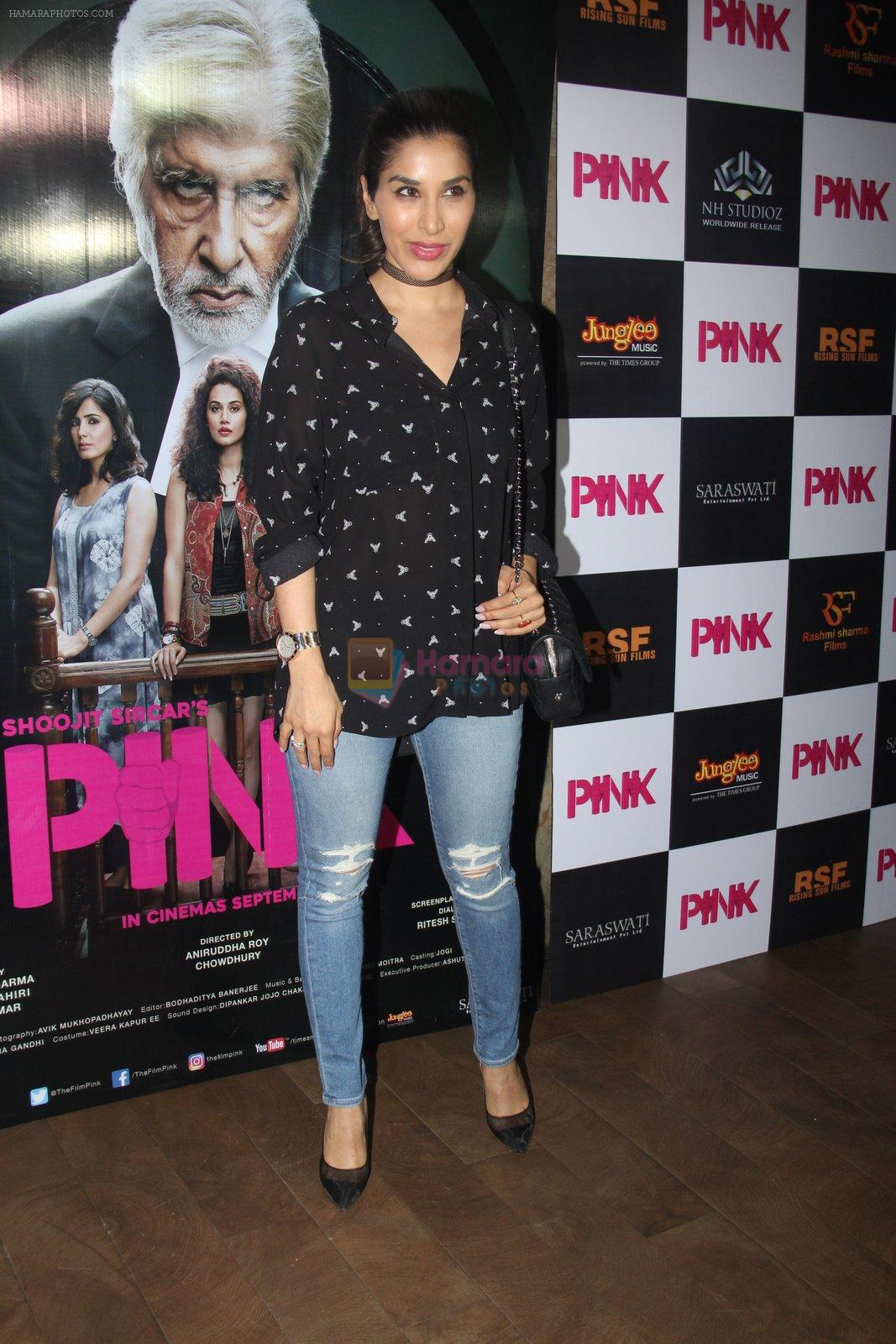 Sophie Chaudhary at Pink Screening in Lightbox on 12th Sept 2016