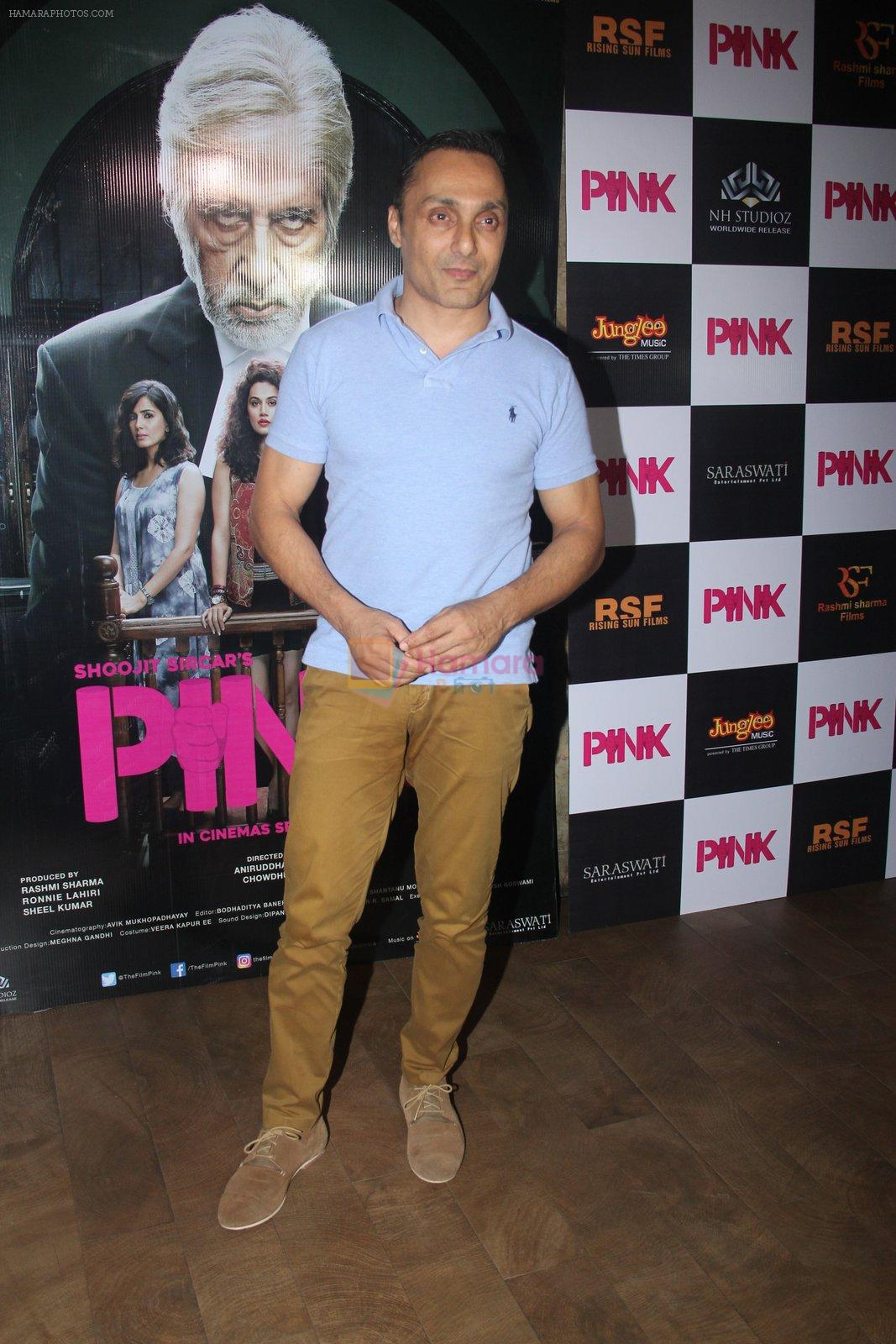 Rahul Bose at Pink Screening in Lightbox on 12th Sept 2016