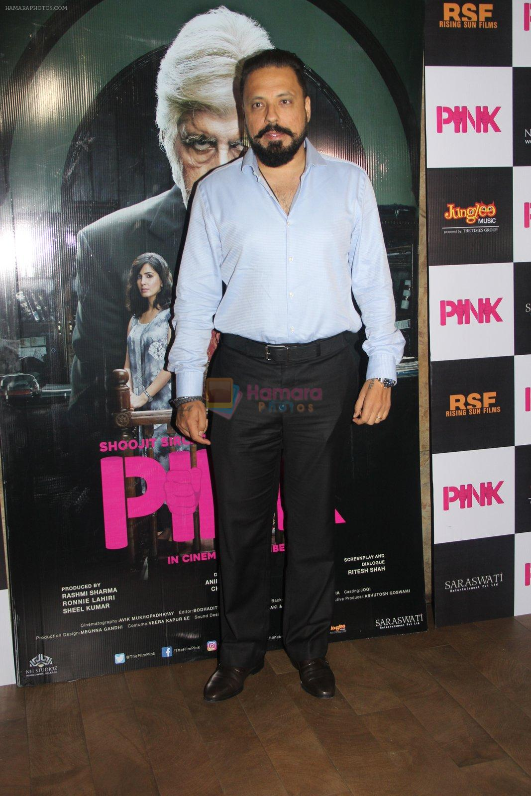 Bunty Walia at Pink Screening in Lightbox on 12th Sept 2016