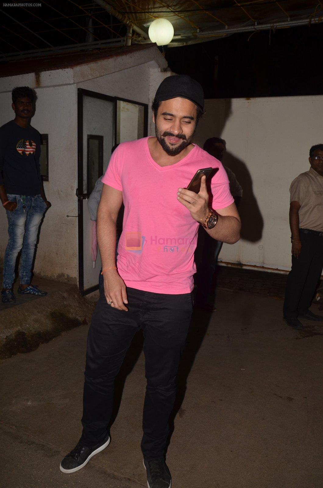 Jackky Bhagnani at Pink Screening in Sunny Super Sound on 12th Sept 2016