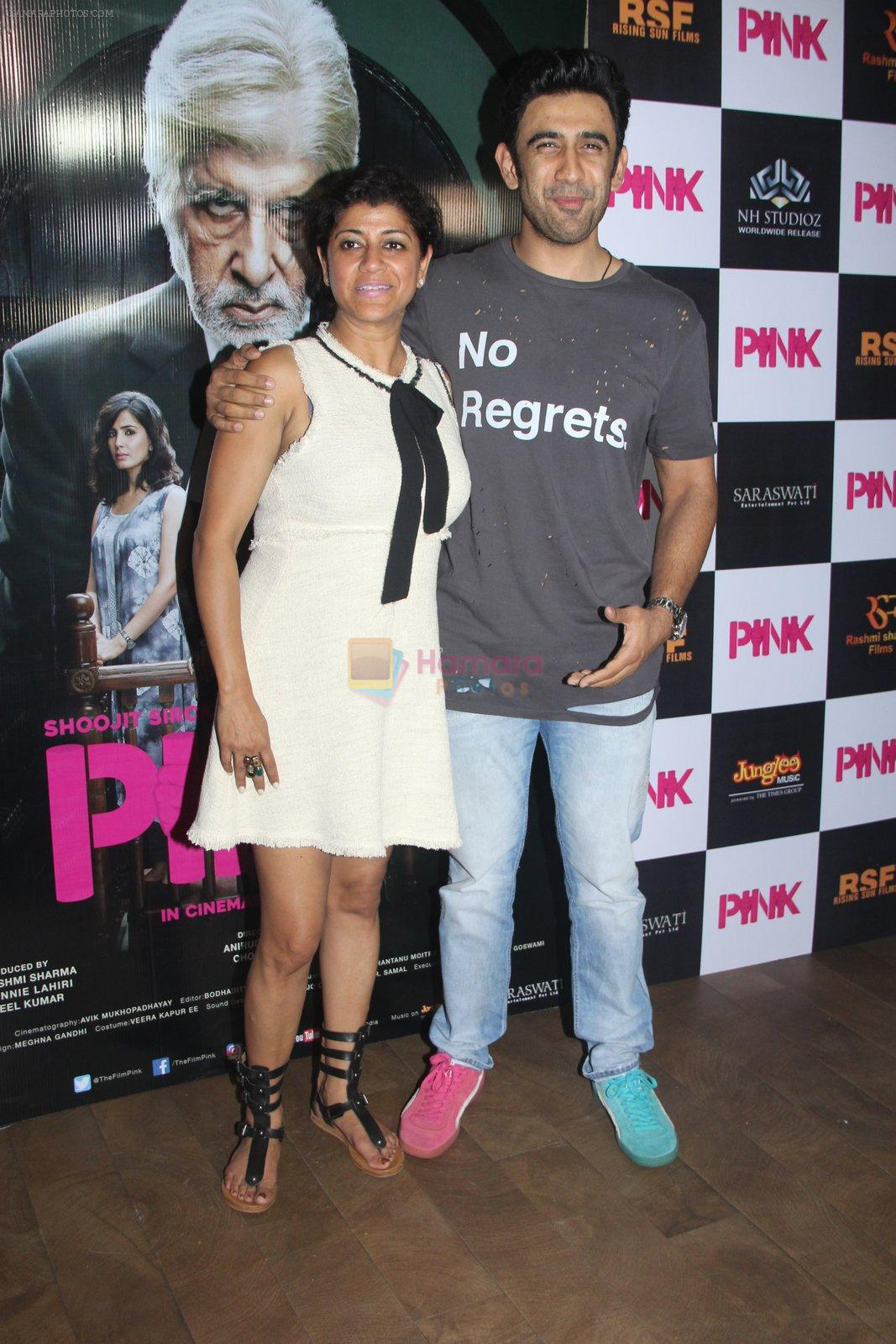 Amit Sadh at Pink Screening in Lightbox on 12th Sept 2016