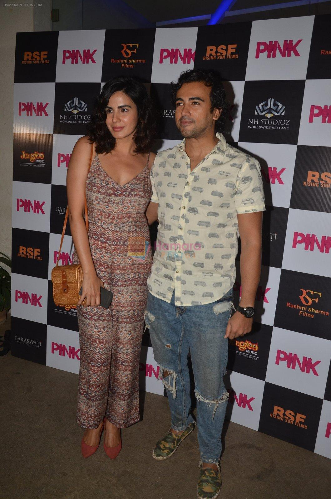 Kirti Kulhari at Pink Screening in Sunny Super Sound on 12th Sept 2016