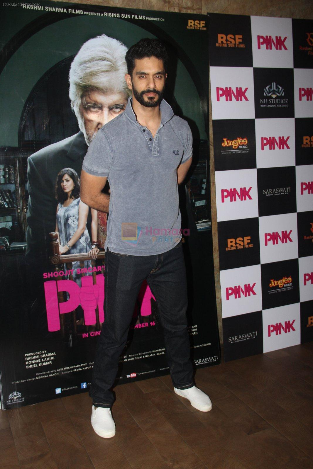 Angad Bedi at Pink Screening in Lightbox on 12th Sept 2016