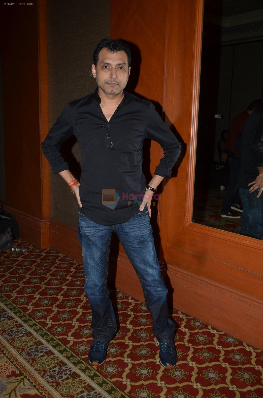Neeraj Pandey snapped at the promotion of M S Dhoni movie on 12th Sept 2016