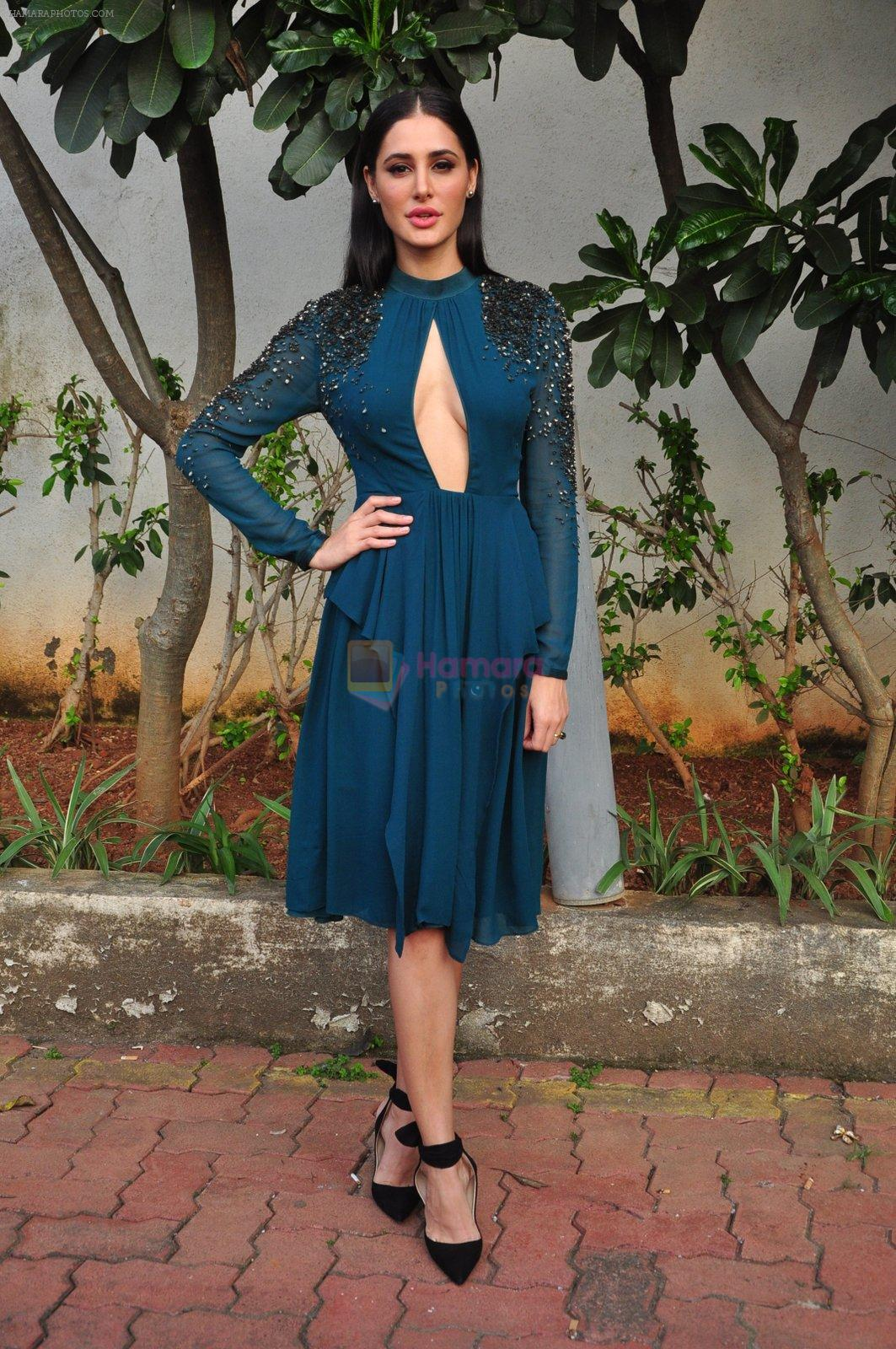 Nargis Fakhri on the sets of Dance Plus on 12th Sept 2016