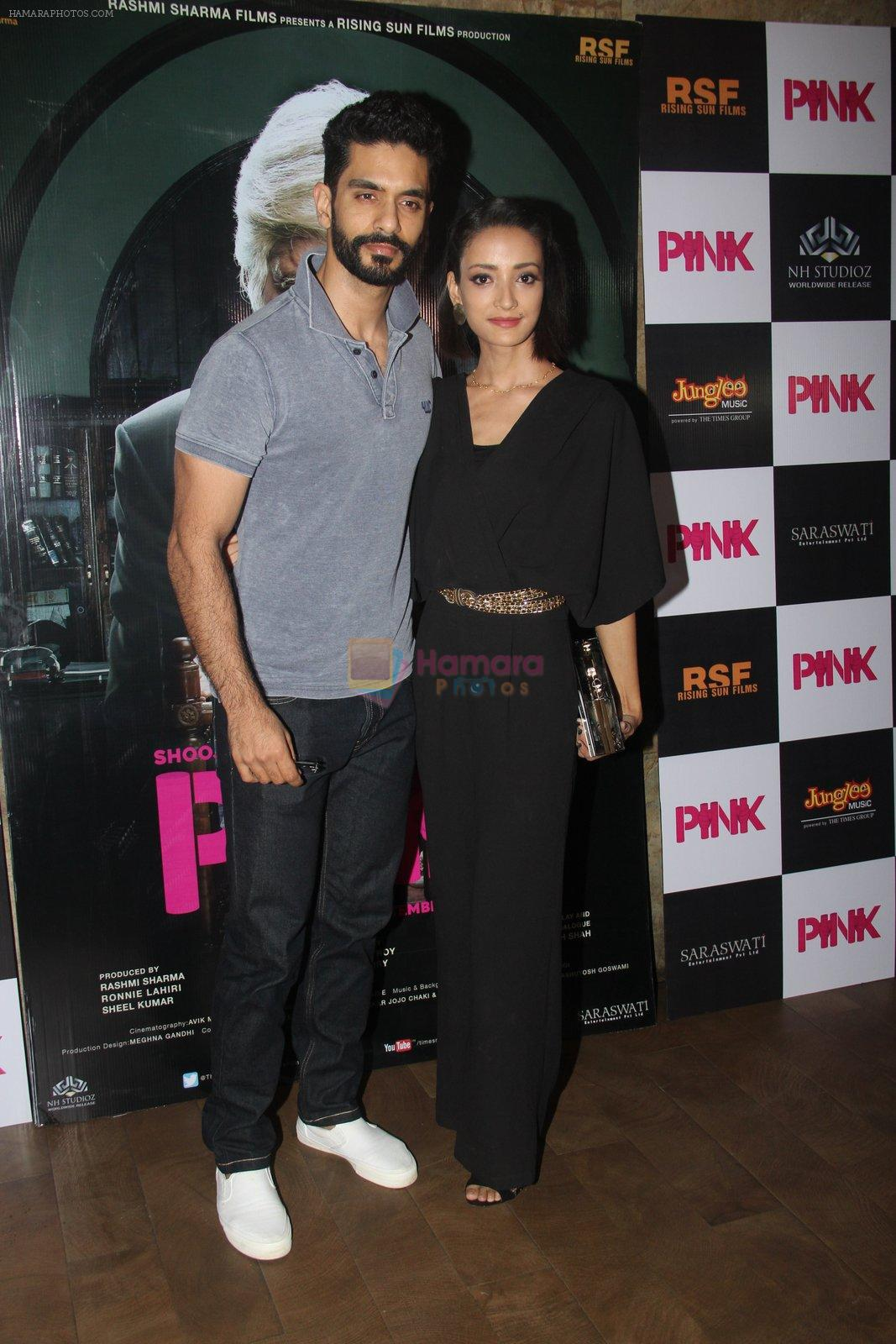 Andrea Tariang, Angad Bedi at Pink Screening in Lightbox on 12th Sept 2016