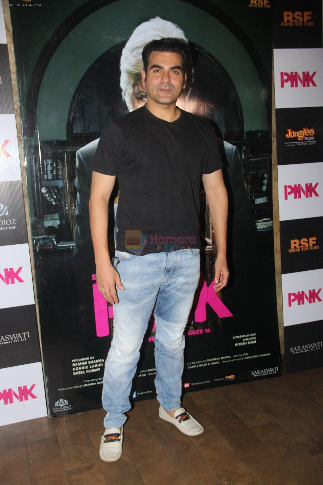 Arbaaz Khan at Pink Screening in Lightbox on 12th Sept 2016