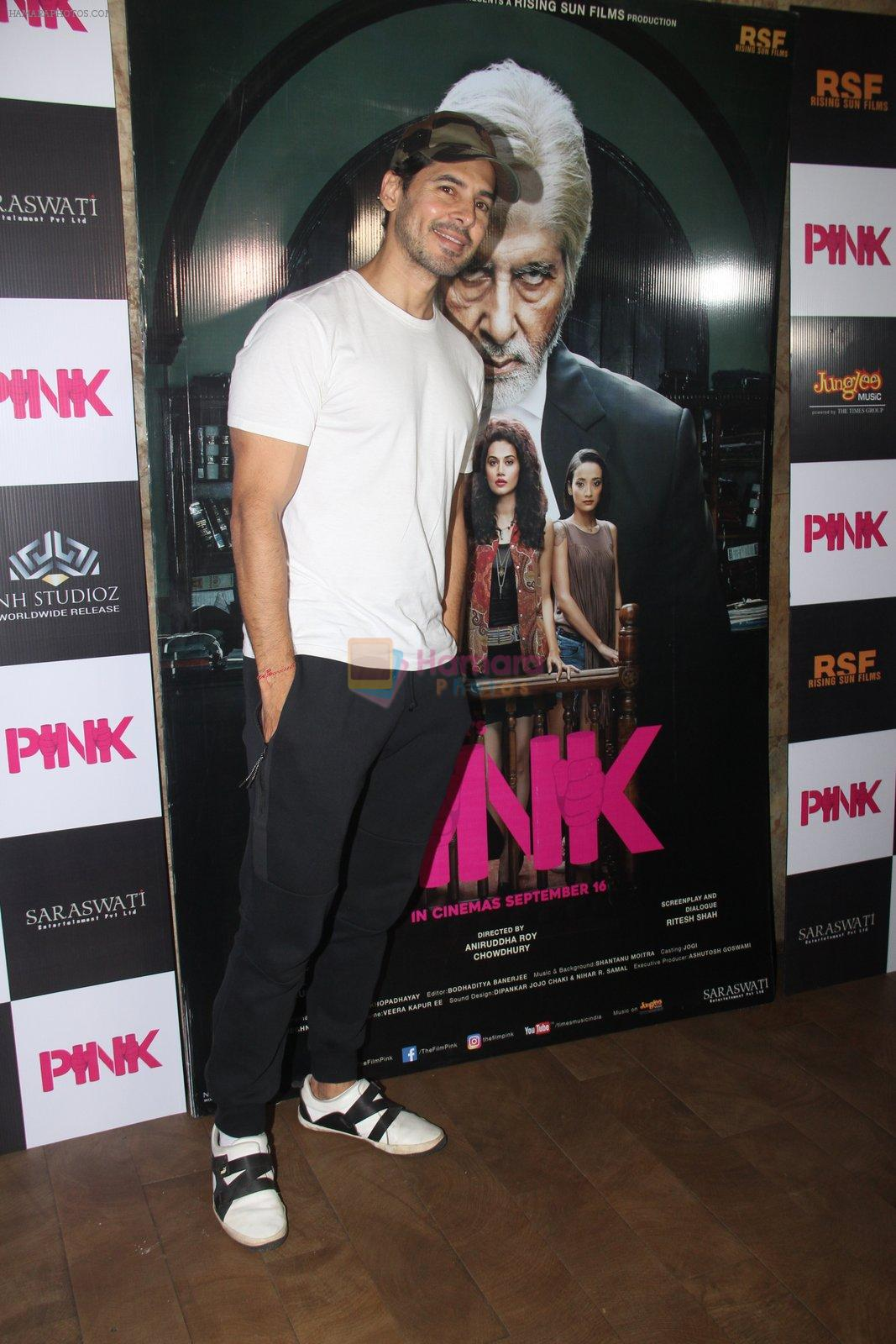Dino Morea at Pink Screening in Lightbox on 12th Sept 2016