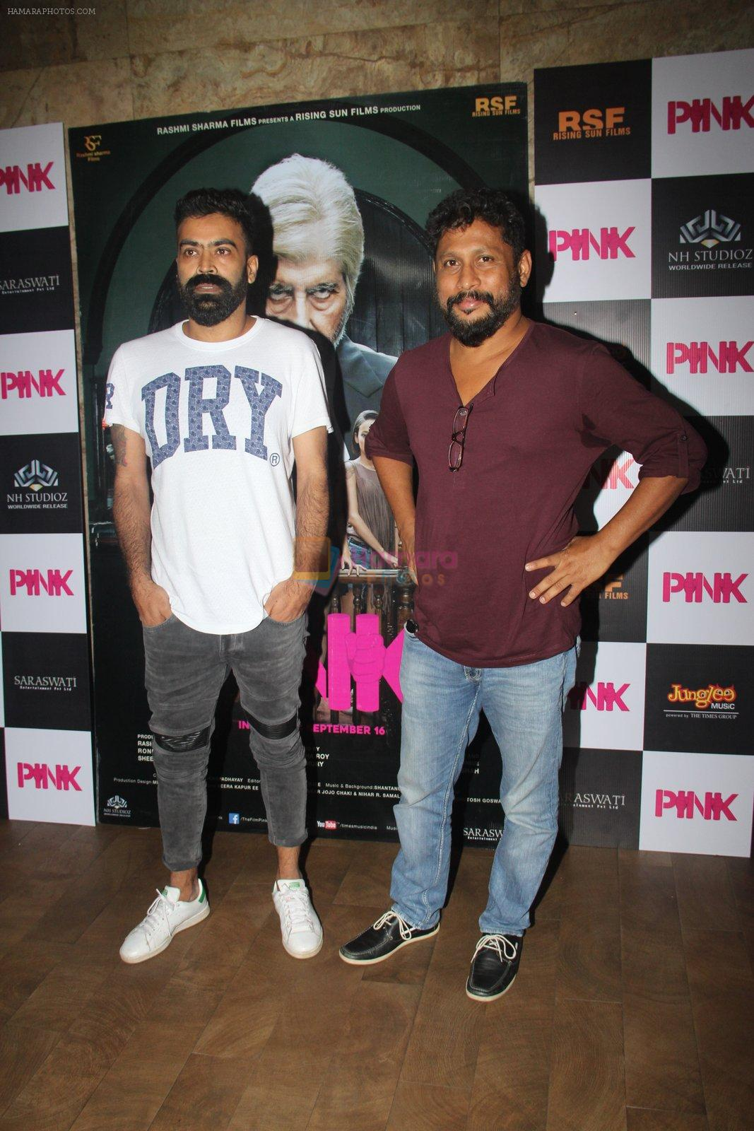 Shoojit Sircar at Pink Screening in Lightbox on 12th Sept 2016