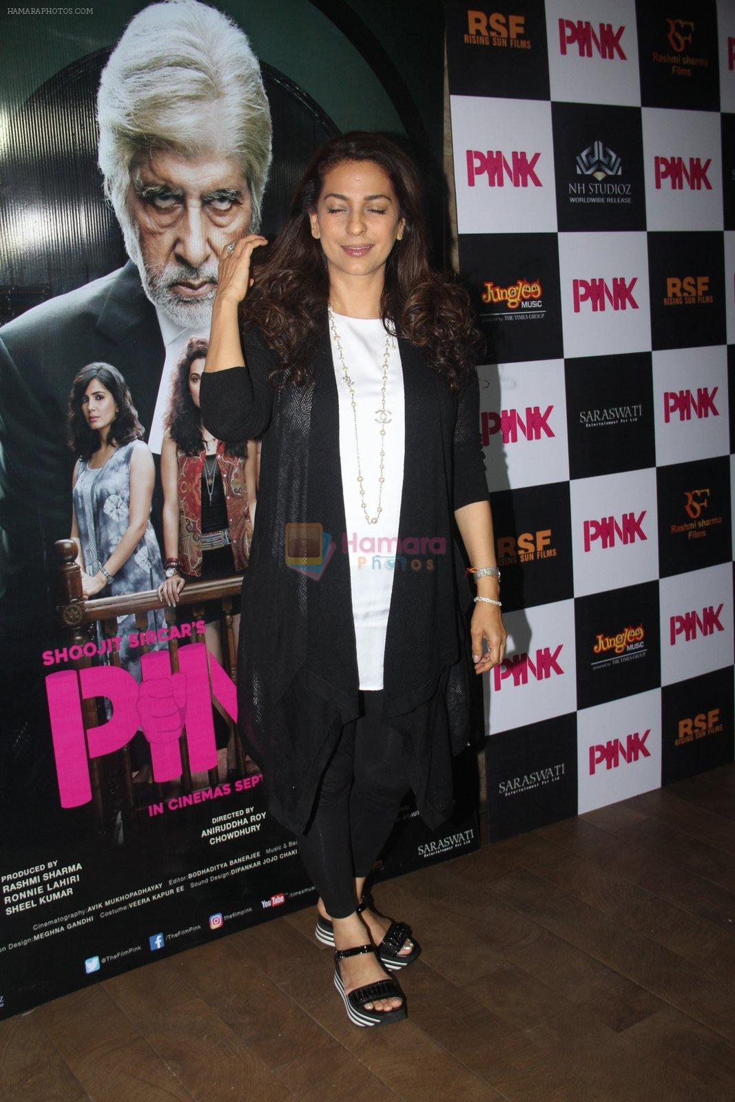 Juhi Chawla at Pink Screening in Lightbox on 12th Sept 2016