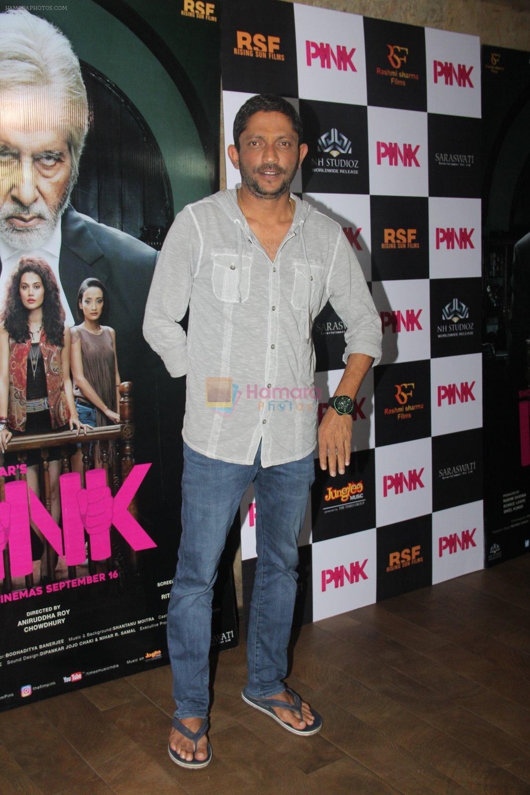 Nishikant Kamat at Pink Screening in Lightbox on 12th Sept 2016