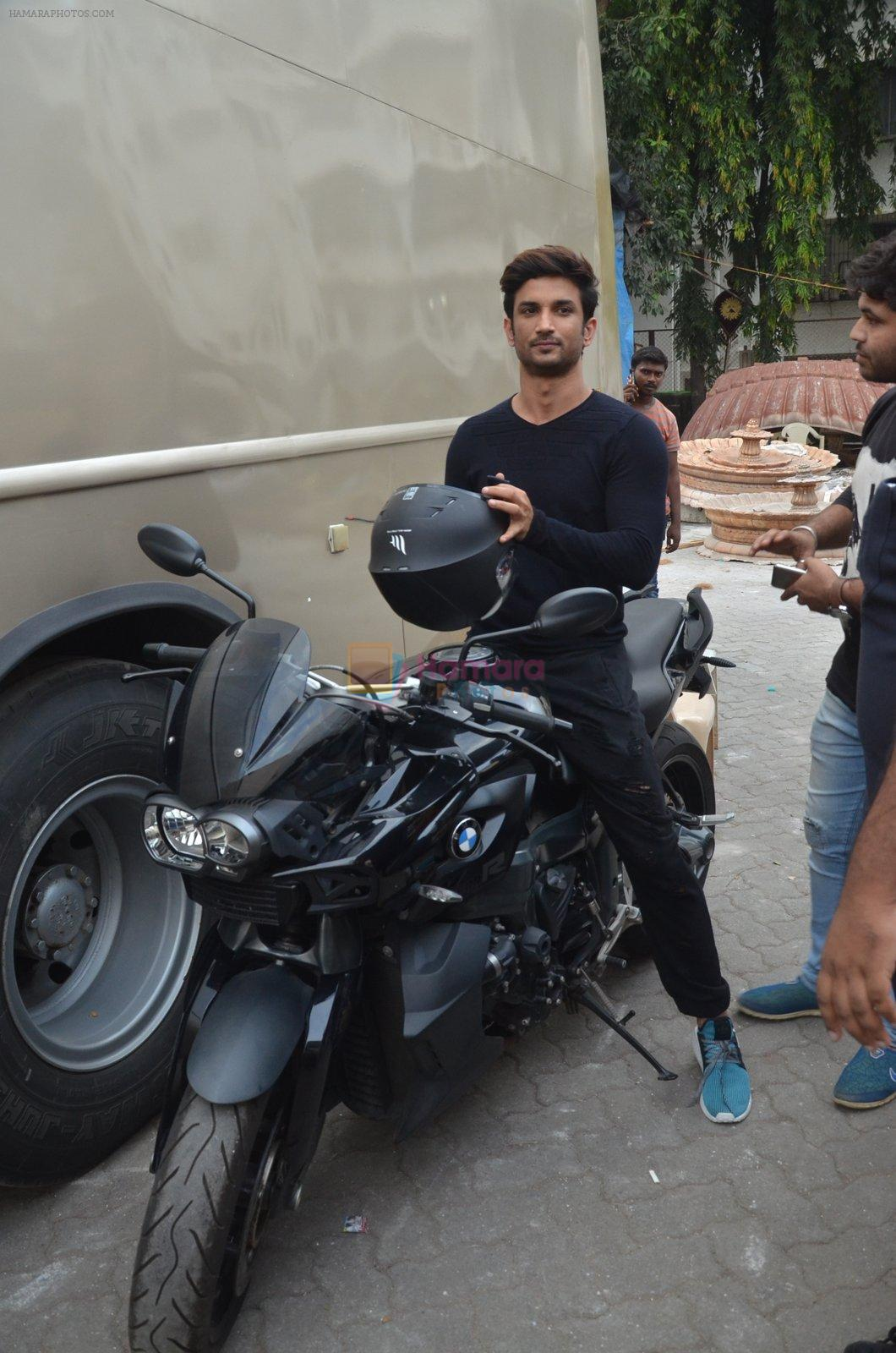 Sushant Singh Rajput snapped promoting M.S. Dhoni - The Untold Story on 13th Sept 2016