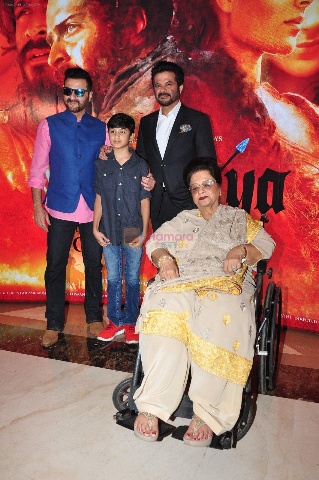 Sanjay Kapoor at the Audio release of Mirzya on 13th Sept 2016
