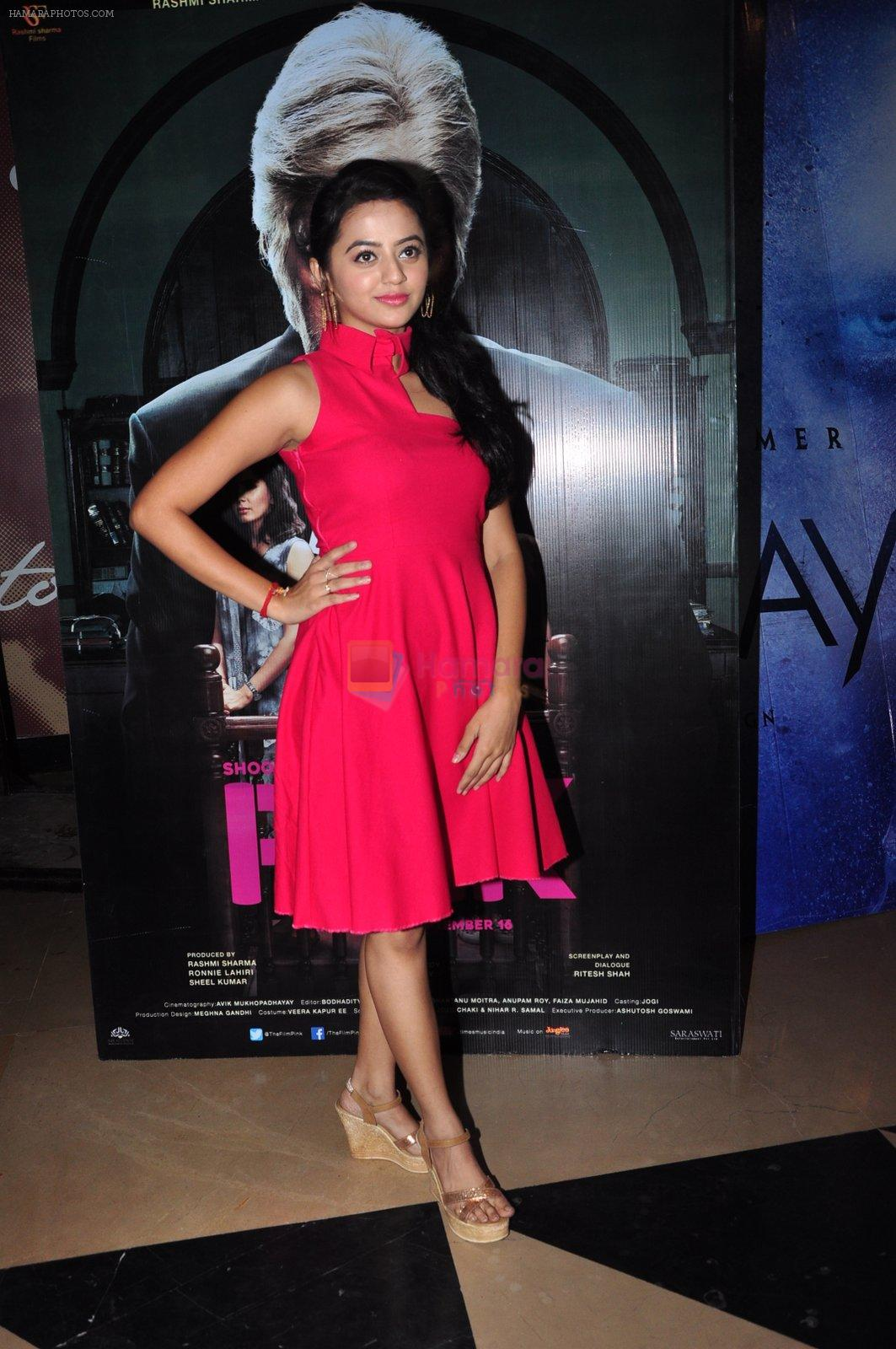 Helly Shah at Pink screening in Mumbai on 13th Sept 2016