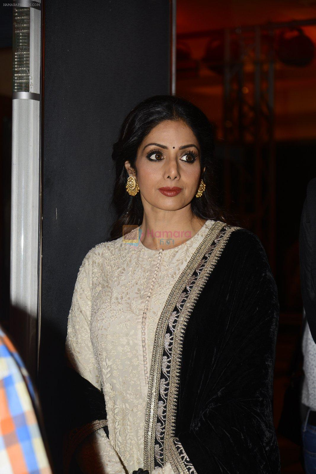 Sridevi at the Audio release of Mirzya on 13th Sept 2016