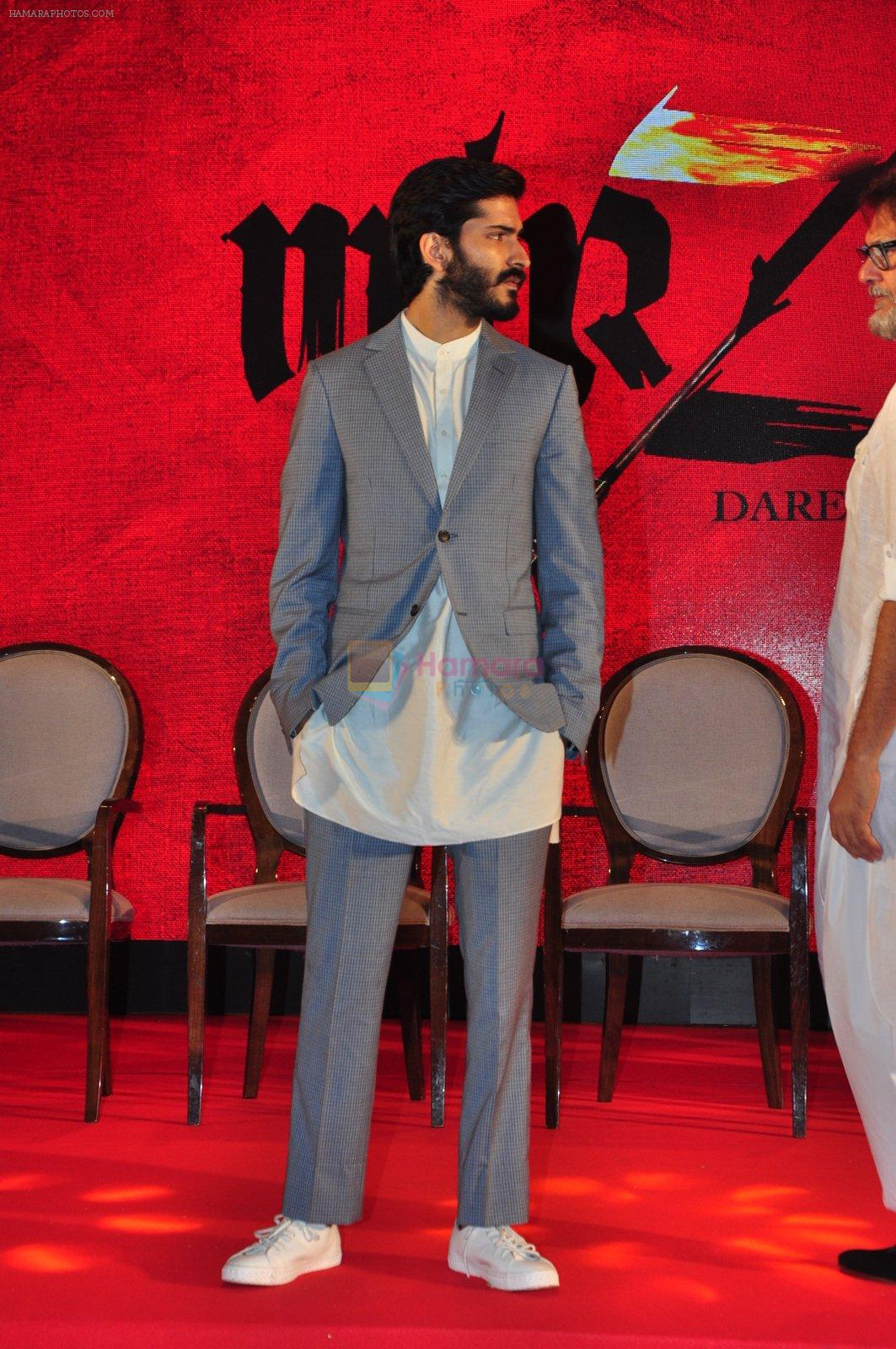 Harshvardhan Kapoor at the Audio release of Mirzya on 13th Sept 2016