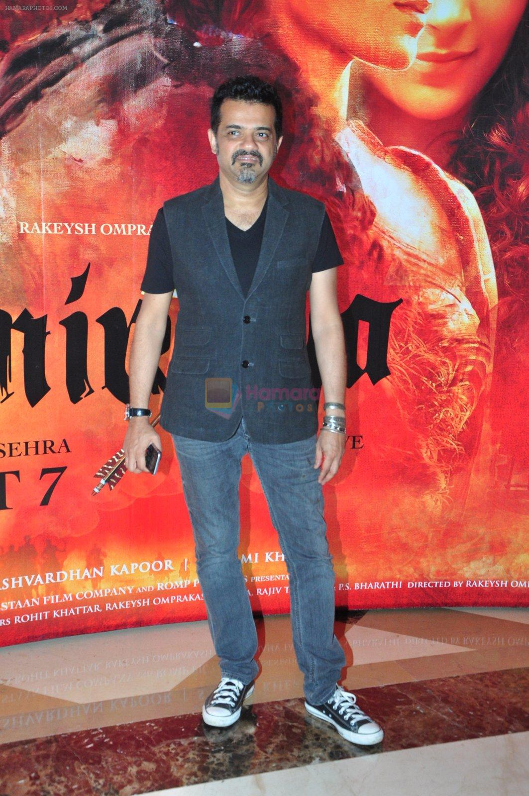 Ehsaan Noorani at the Audio release of Mirzya on 13th Sept 2016