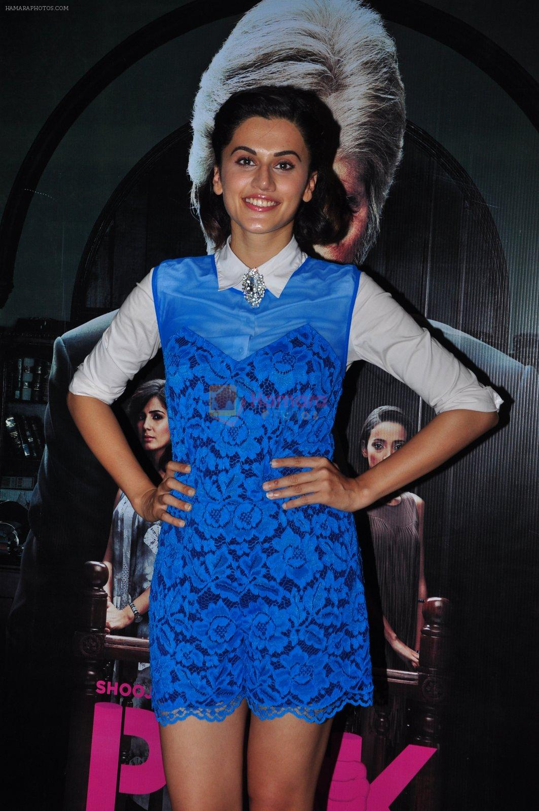 Taapsee Pannu at Pink screening in Mumbai on 13th Sept 2016