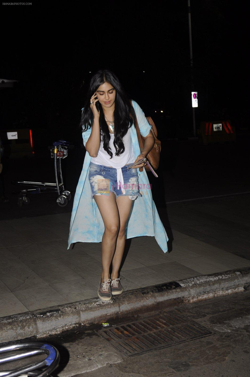 Adah Sharma leaves for Ladakh for Commondo 2 on 14th Sept 2016
