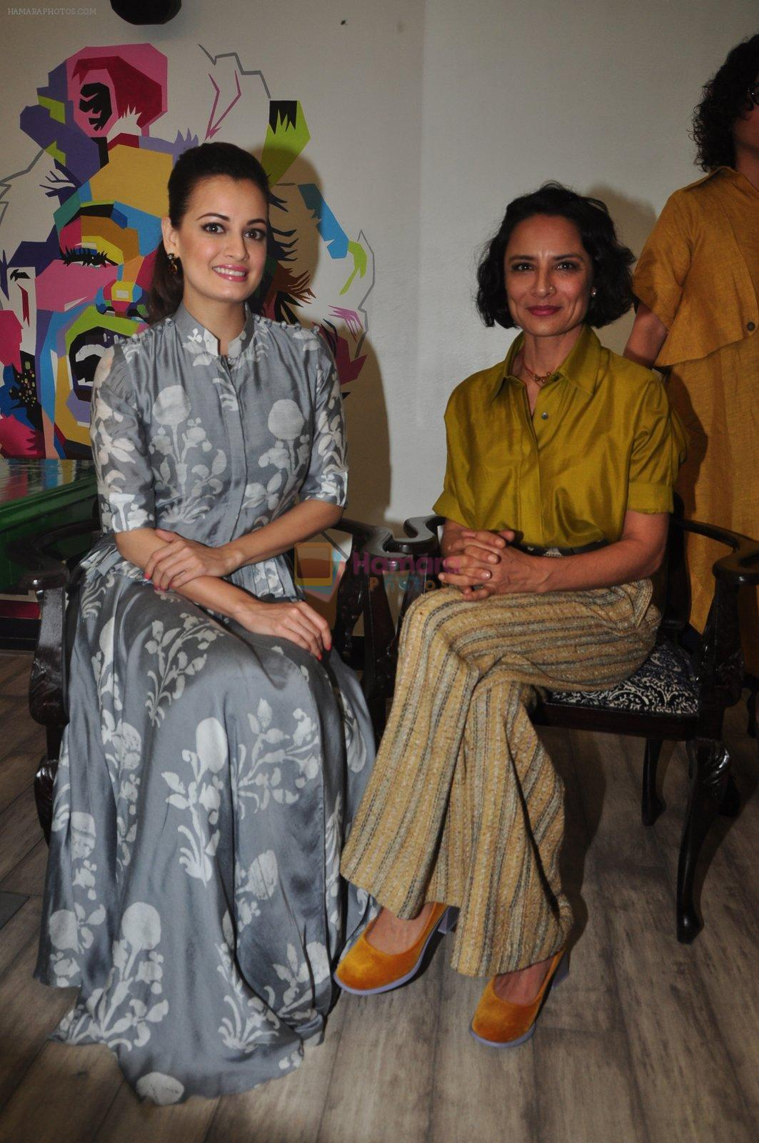 Dia Mirza, Adhuna Akhtar launches Bblunt in Malad on 14th Sept 2016