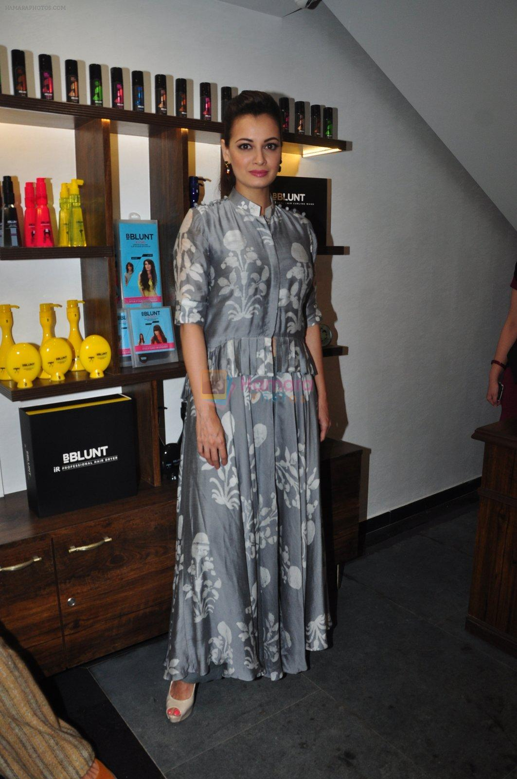 Dia Mirza launches Bblunt in Malad on 14th Sept 2016