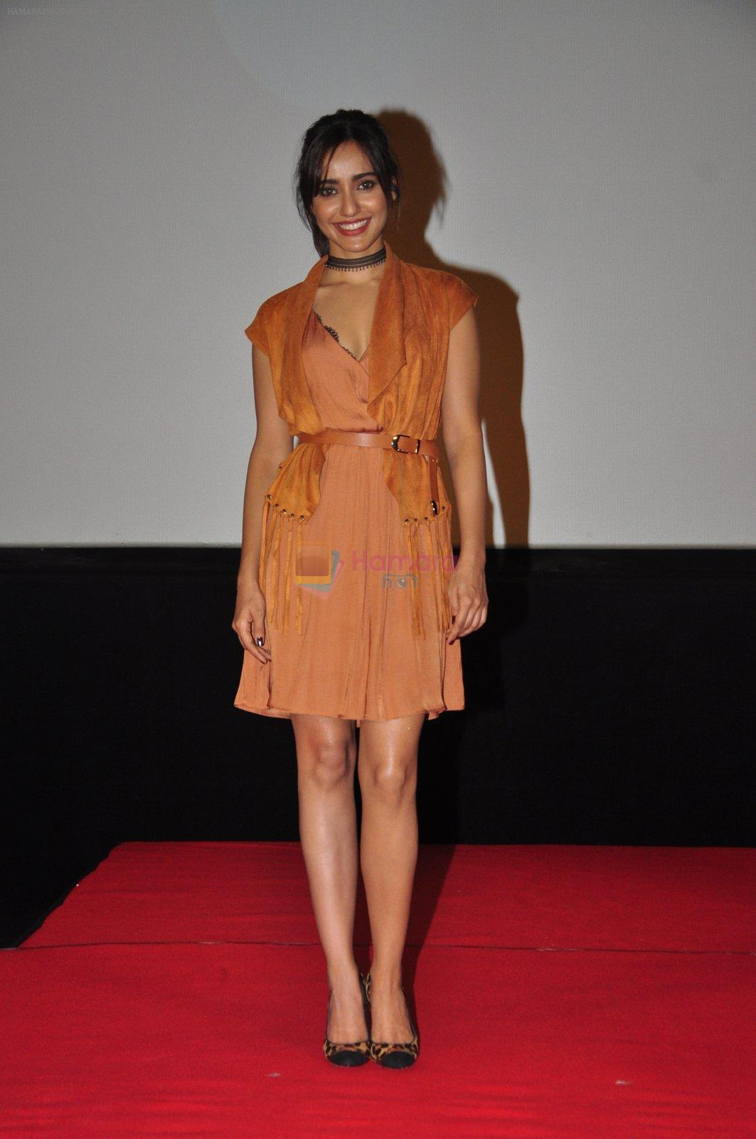 Neha Sharma at the Audio release of Tum Bin 2 on 14th Sept 2016