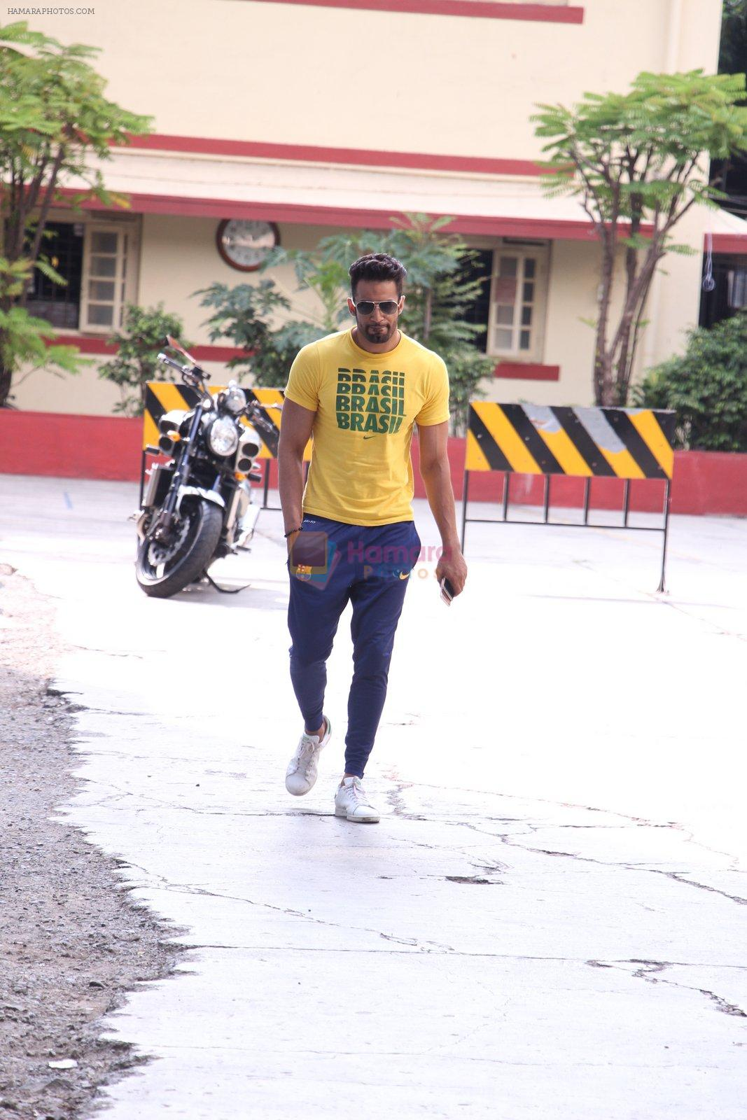 Upen Patel snapped leaving his gym on 14th Sept 2016