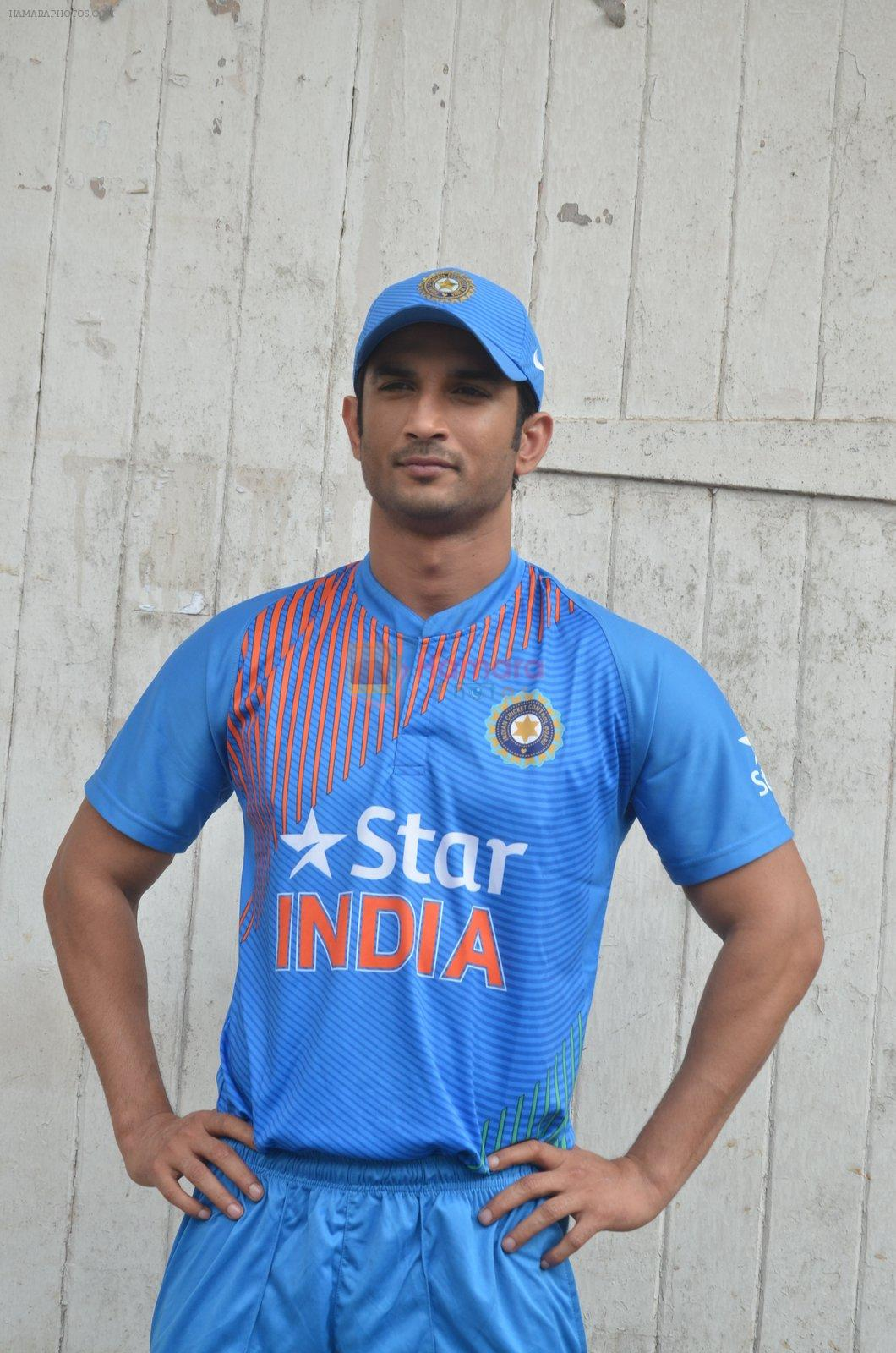 Sushant Singh Rajput snapped at the promotion of film M S Dhoni on 14th Sept 2016