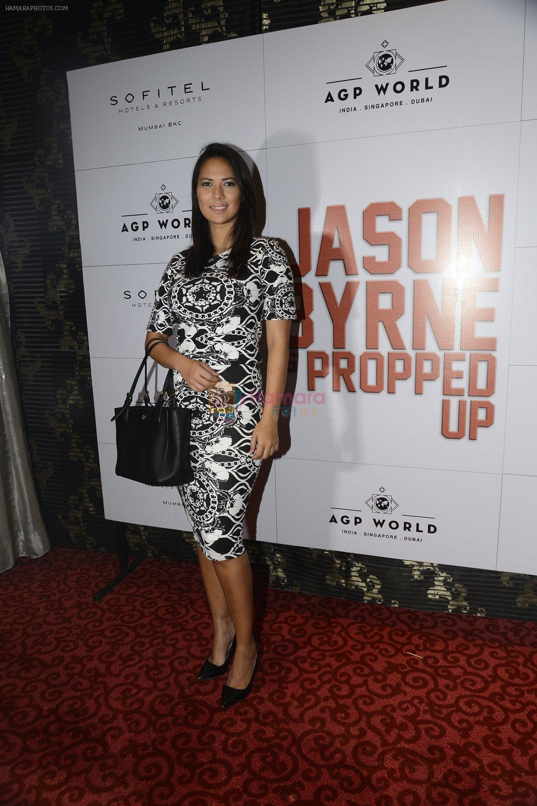 Rochelle Rao at Jason Byrne stand up comedian's premiere show on 15th Sept 2016