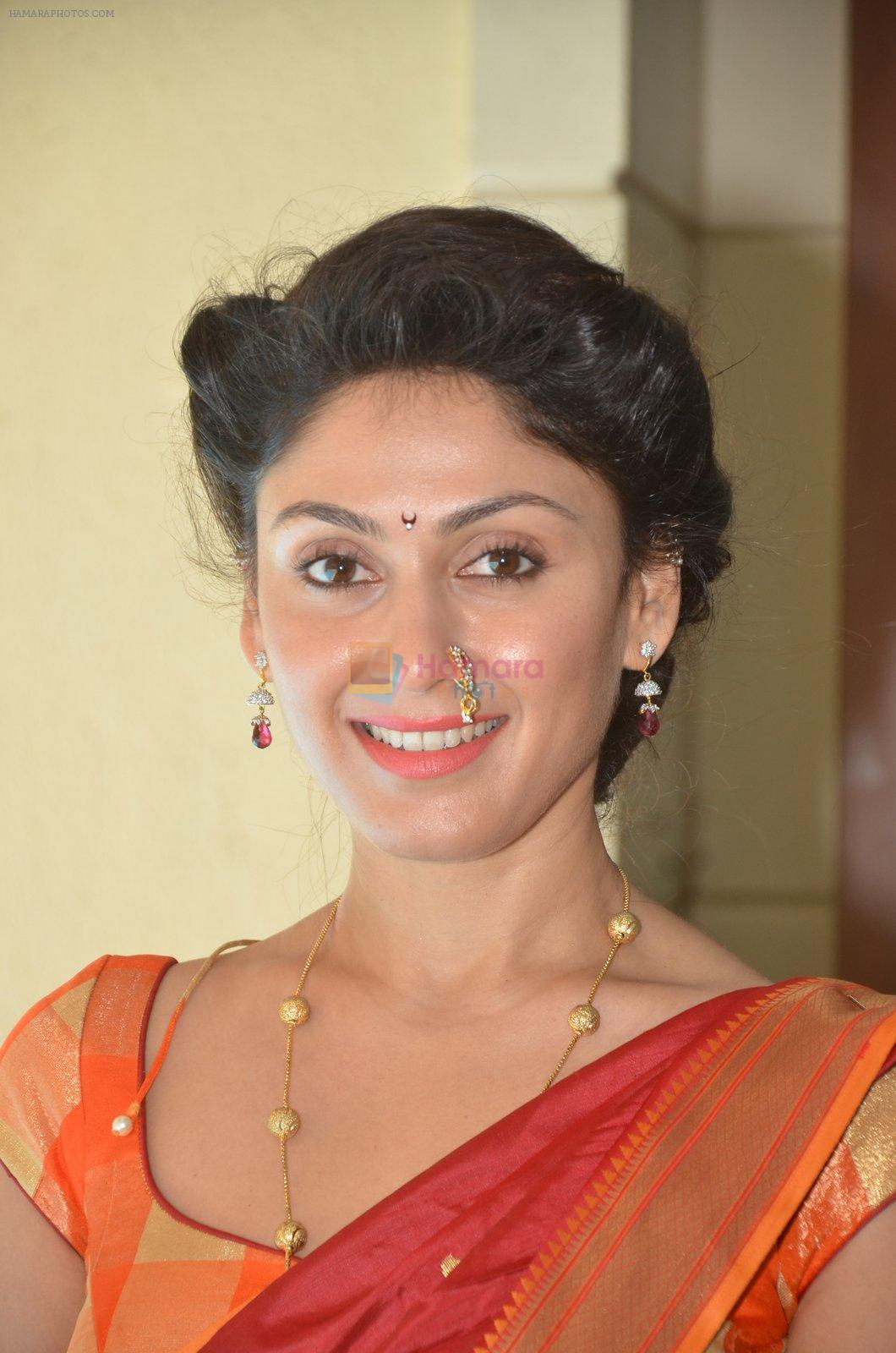 Manjari Fadnis promote Wah Taj on 14th Sept 2016