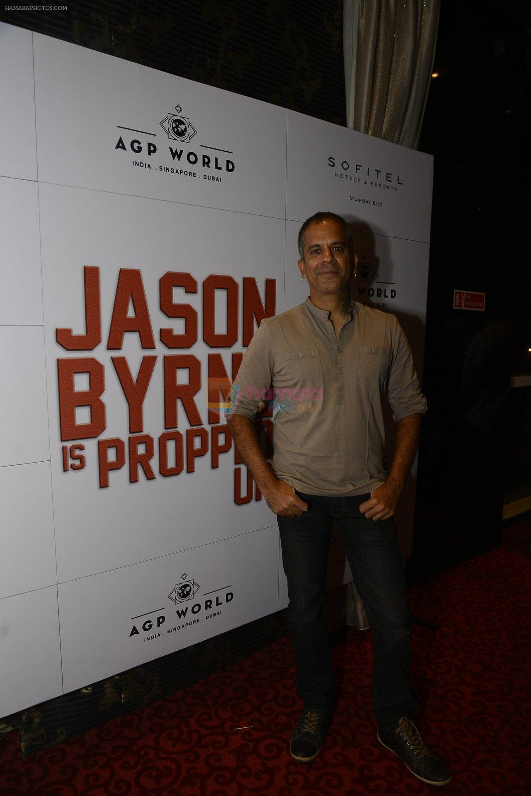 at Jason Byrne stand up comedian's premiere show on 15th Sept 2016