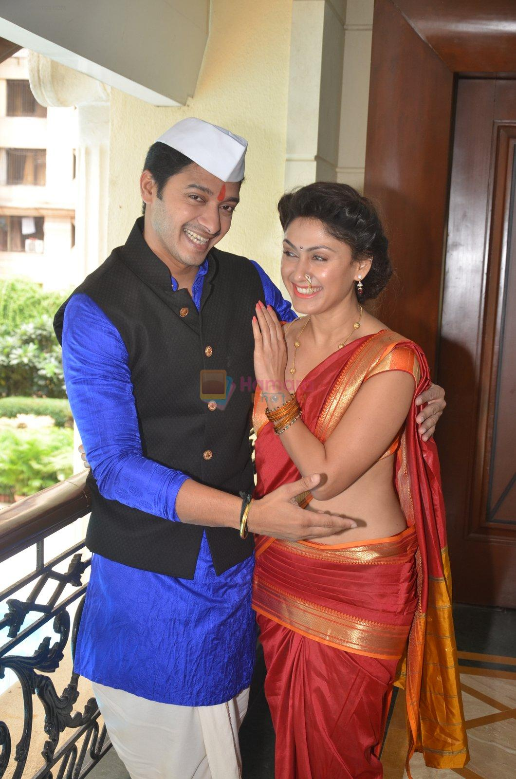 Shreyas Talpade & Manjari Fadnis promote Wah Taj on 14th Sept 2016