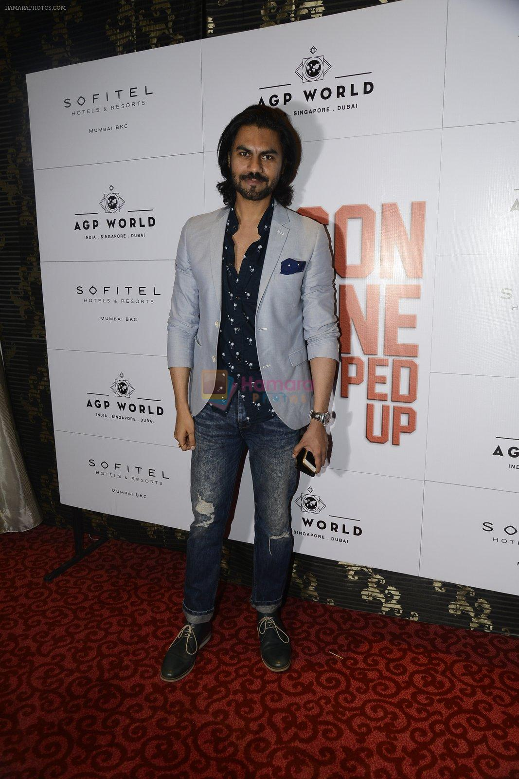 Gaurav Chopra at Jason Byrne stand up comedian's premiere show on 15th Sept 2016