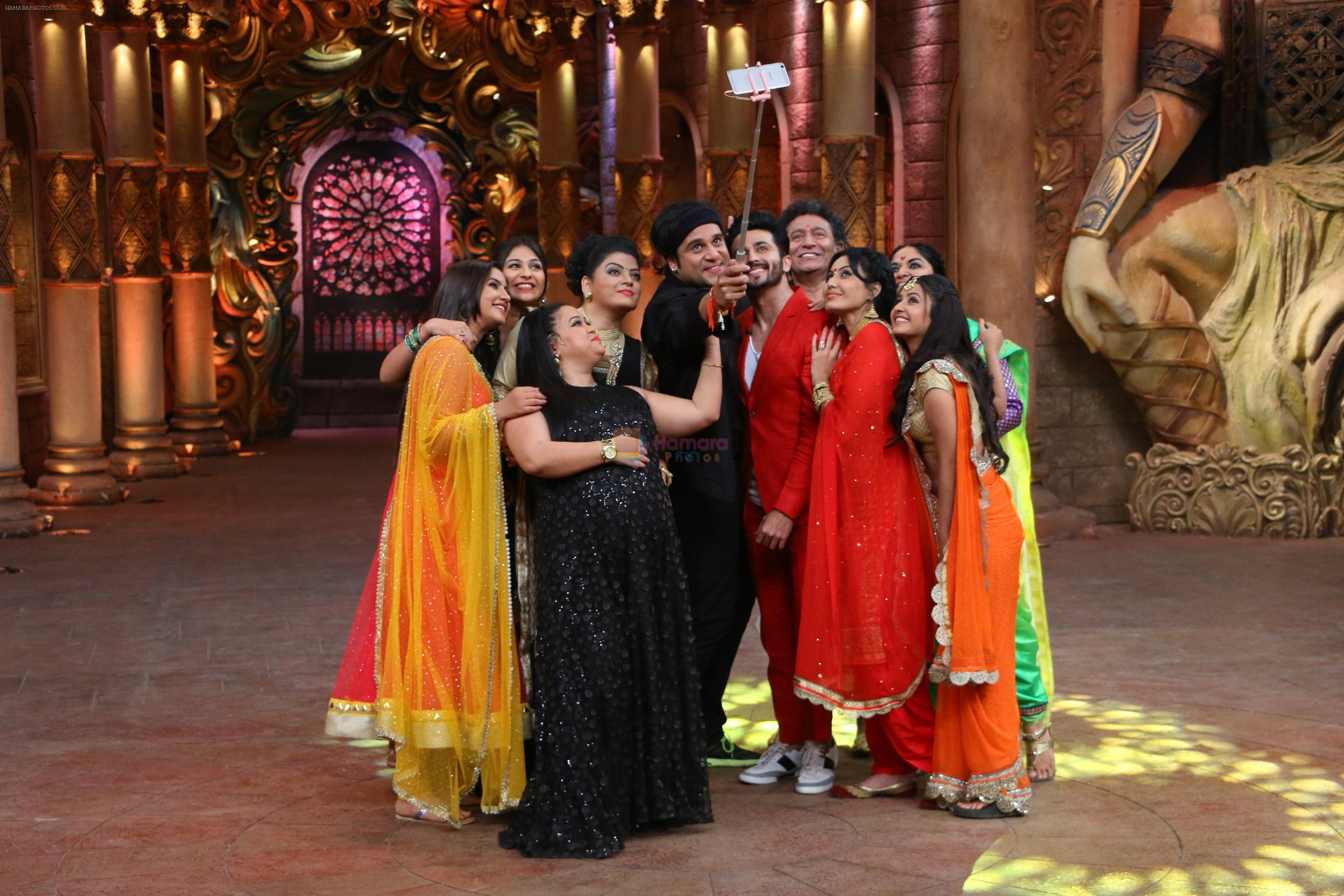 COLORS fiction shows artists on Comedy Nights Bachao