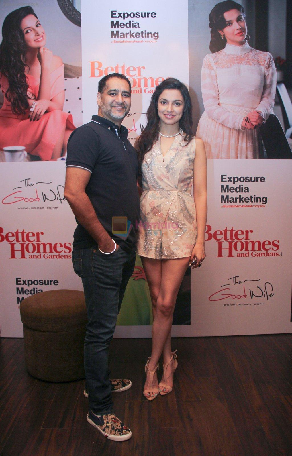 Divya Khosla Kumar graces the success party celebrating the cover story of Better Homes & Gard on 14th Sept 2016