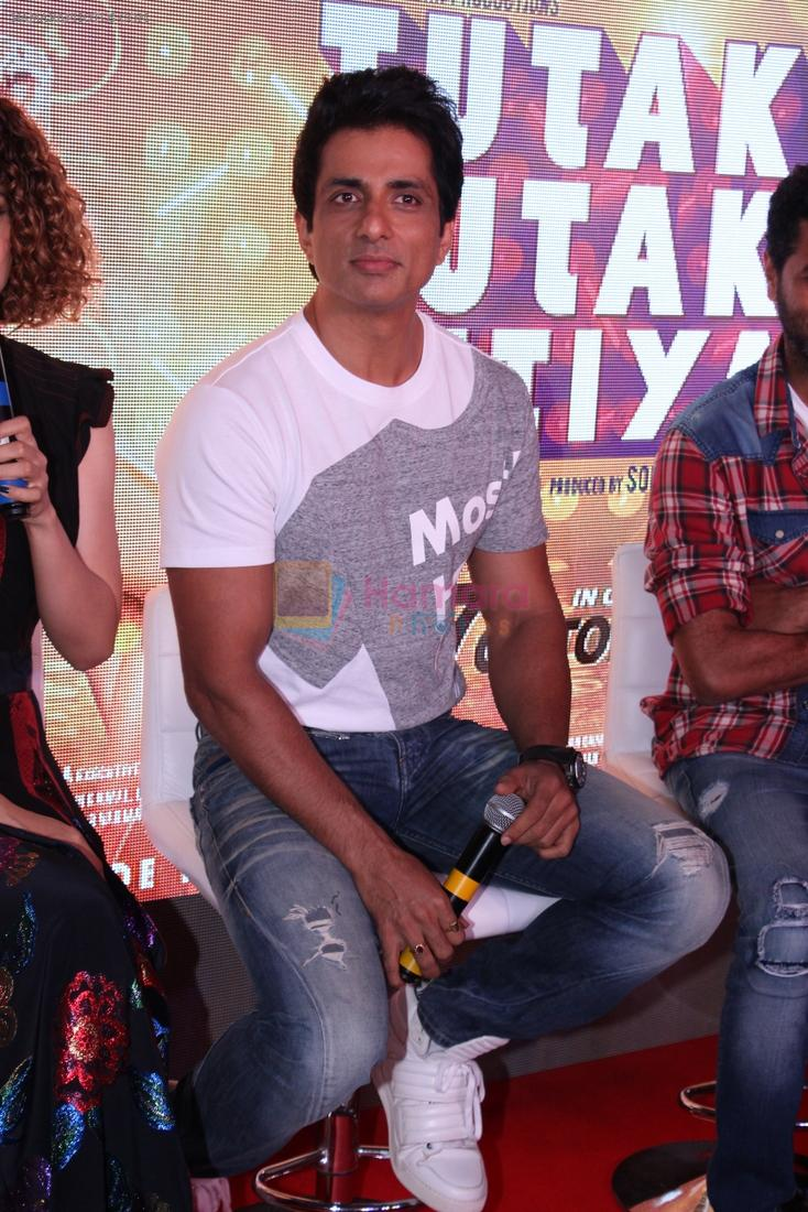 Sonu Sood at Tutak Tutak Tutiya Song launch on 19th Sept 2016