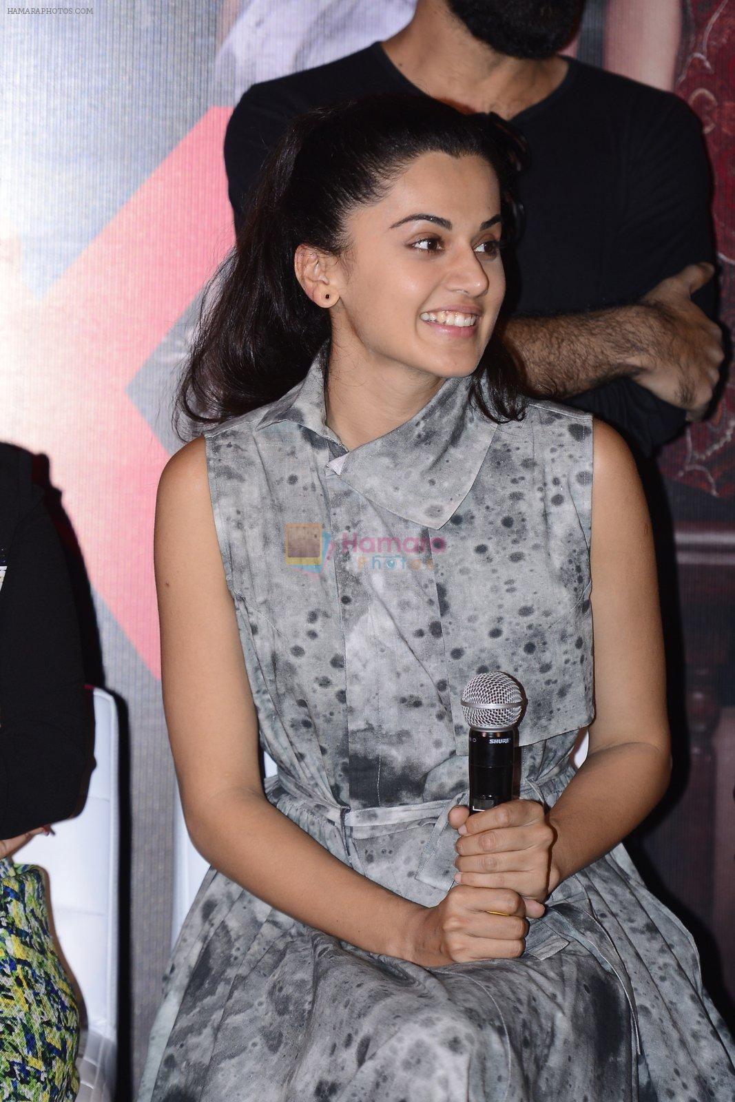 Taapsee Pannu at Pink success meet on 19th Sept 2016