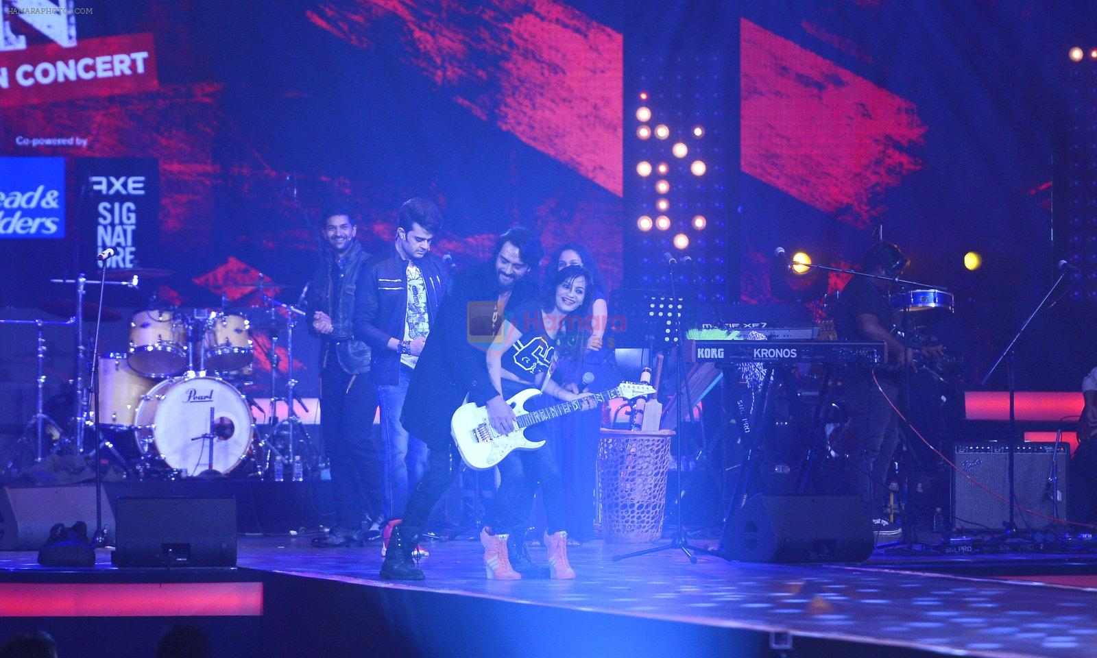 Manish Paul at Rock on 2 concert on 17th Sept 2016
