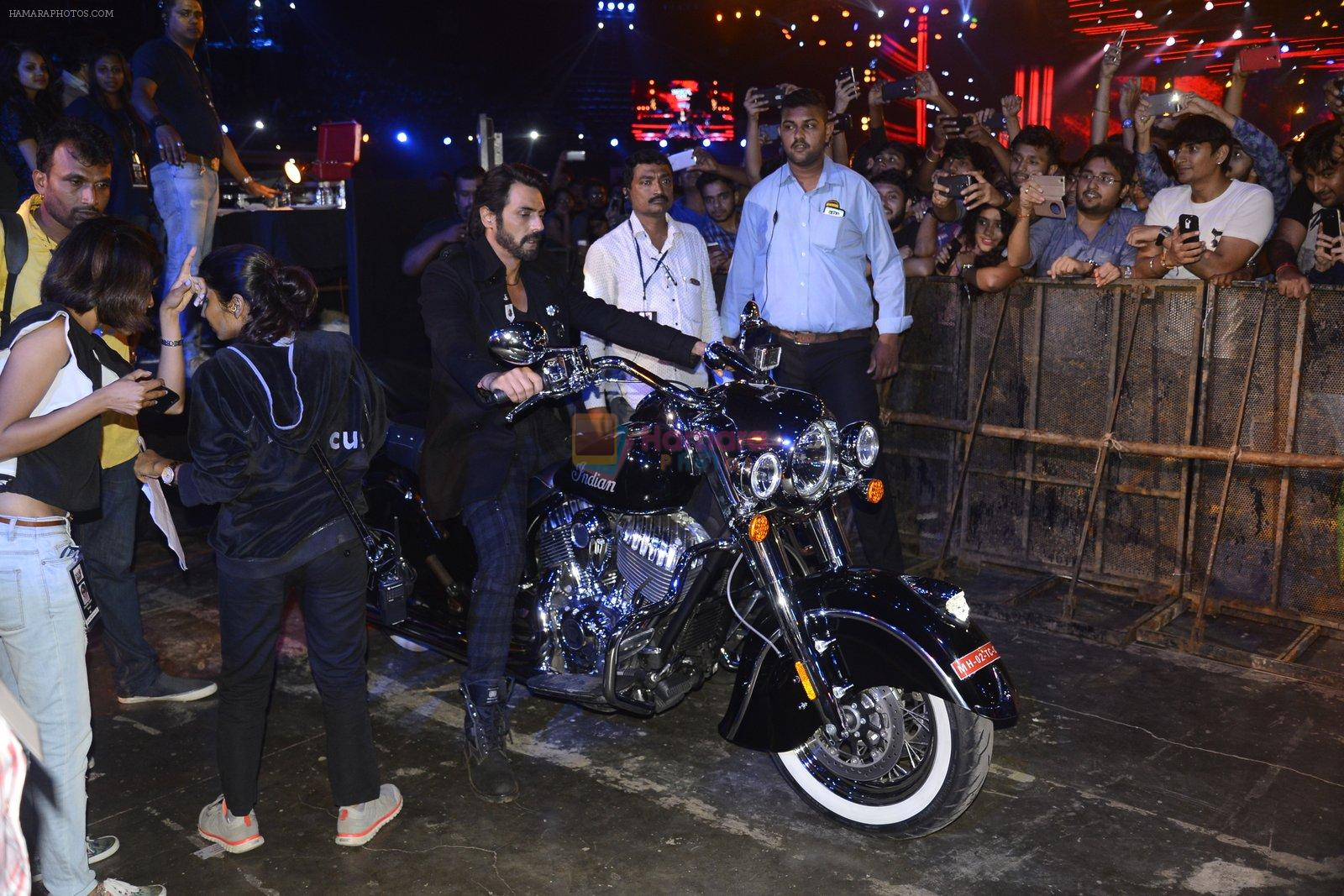 Arjun Rampal at Rock on 2 concert on 17th Sept 2016
