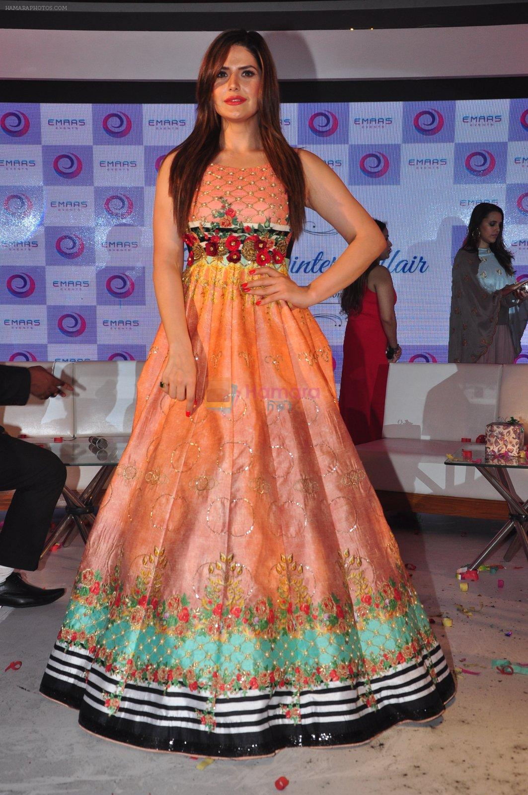 Zarine Khan at the Emars events press conference in Pune on 18th Sept 2016