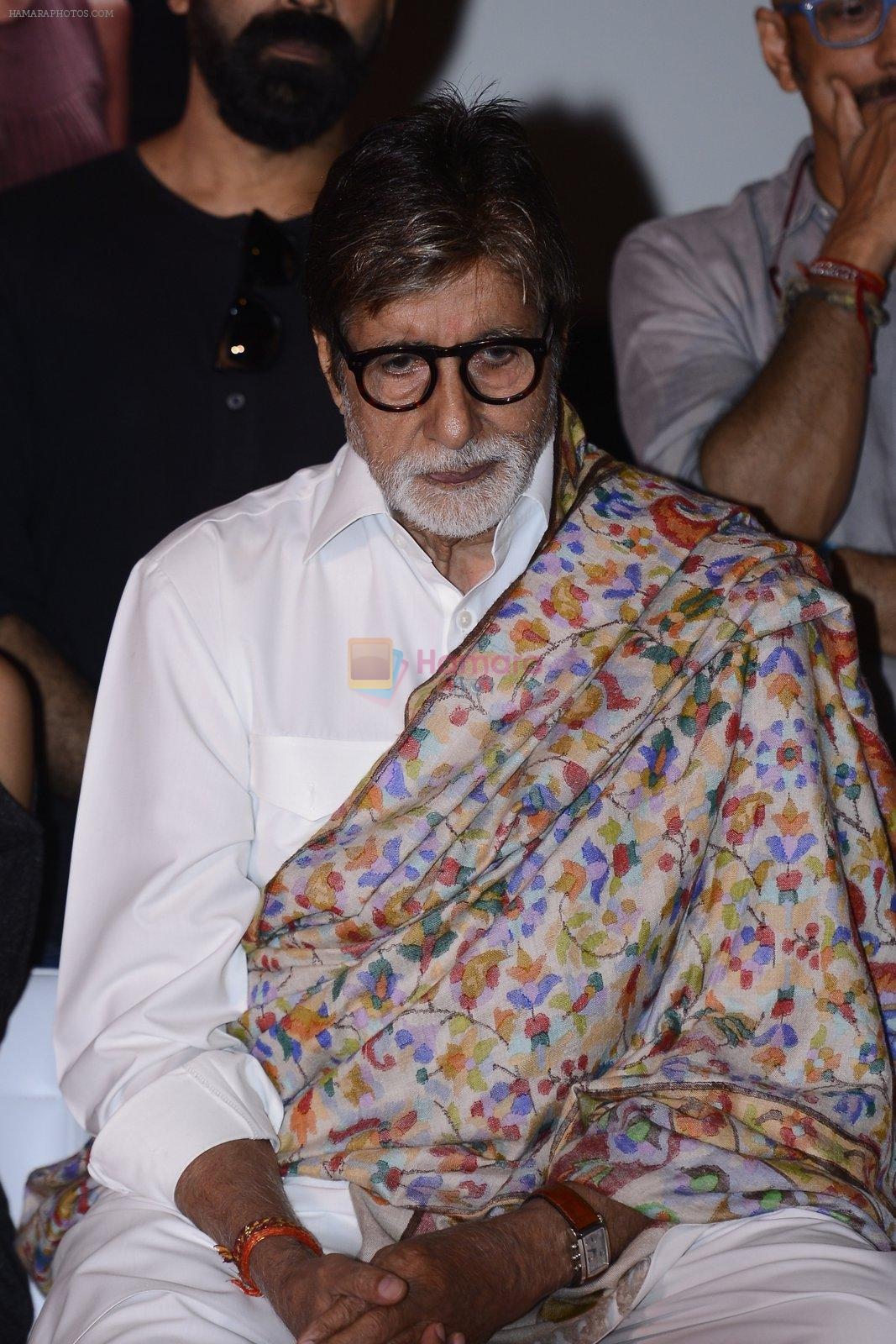 Amitabh Bachchan at Pink success meet on 19th Sept 2016