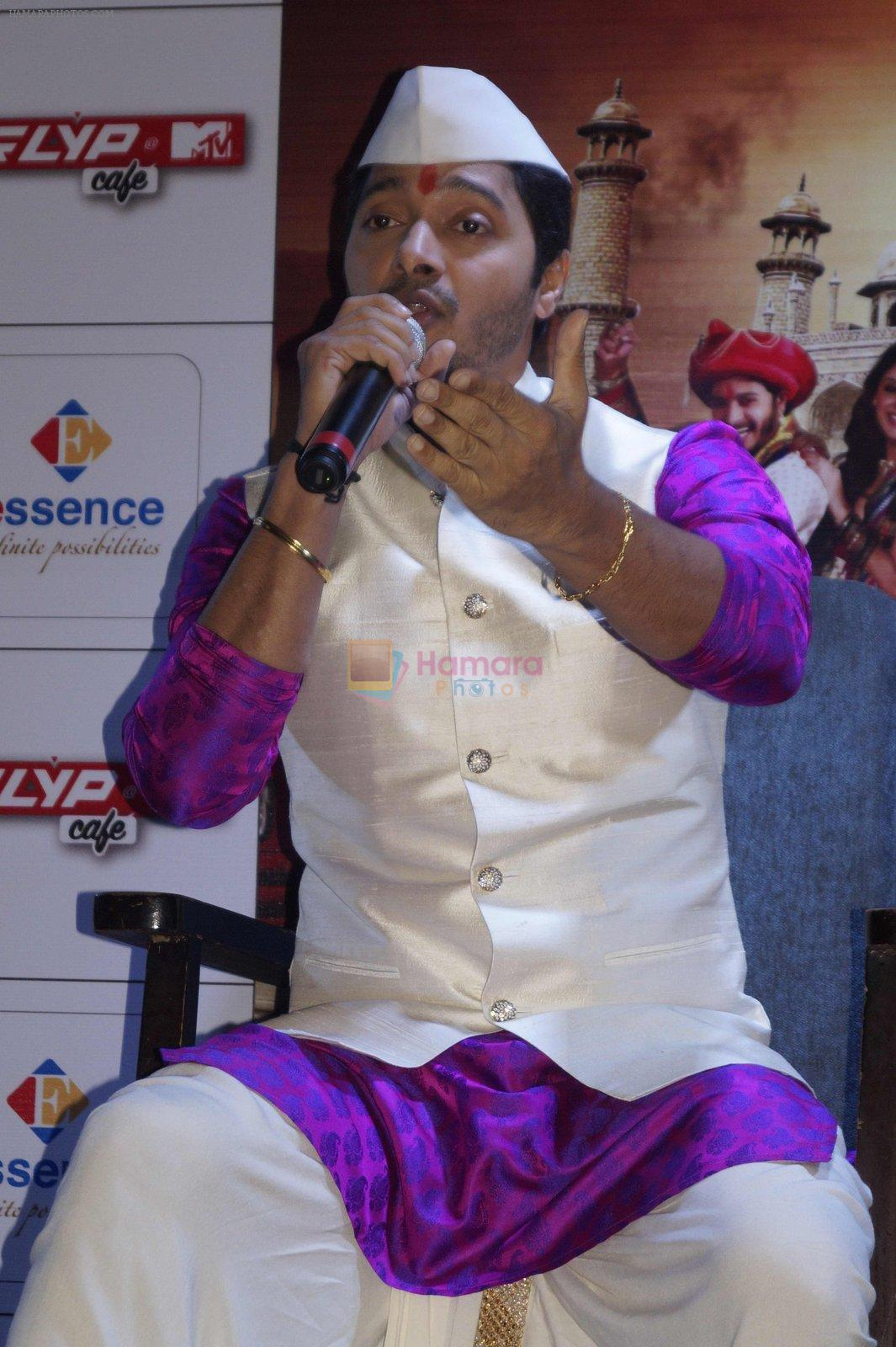 Shreyas Talpade at Wah Taj promotion in Delhi on 19th Sept 2016