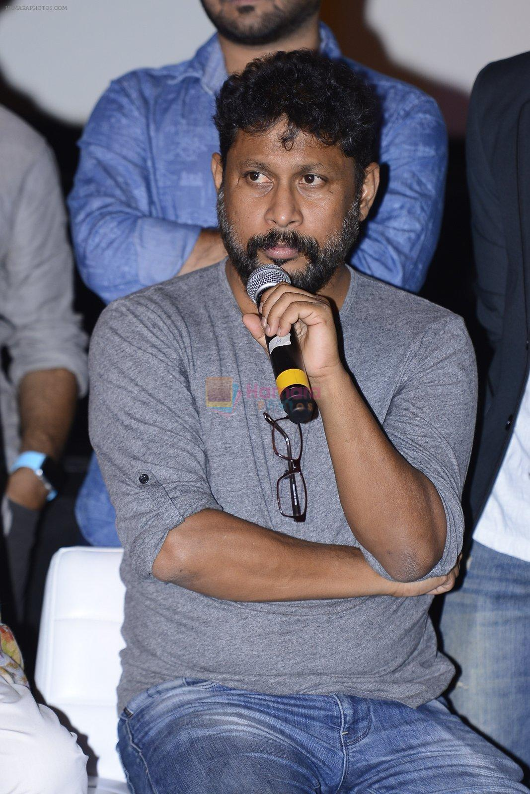 Shoojit Sircar at Pink success meet on 19th Sept 2016