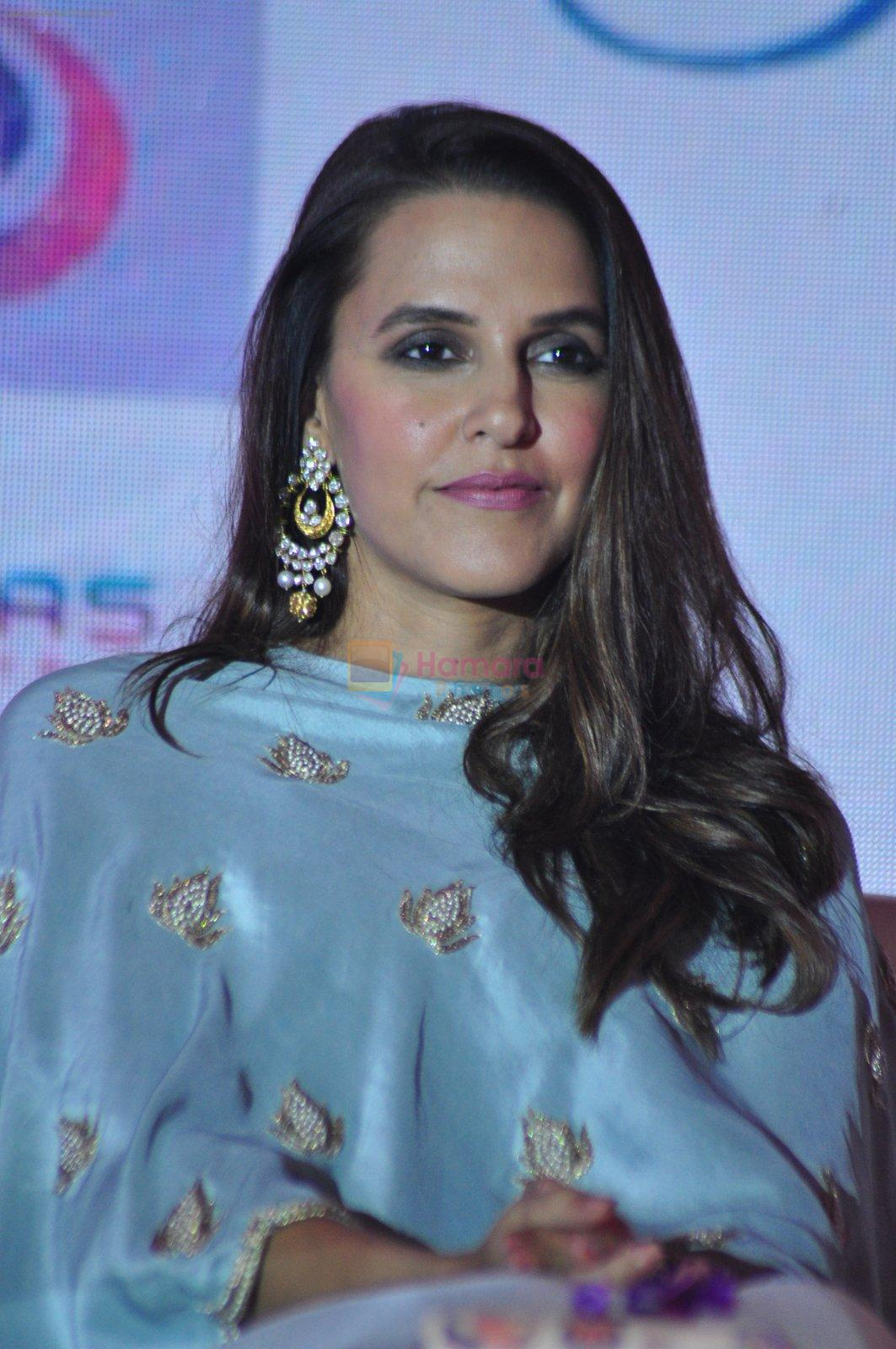 Neha Dhupia at the Emars events press conference in Pune on 18th Sept 2016