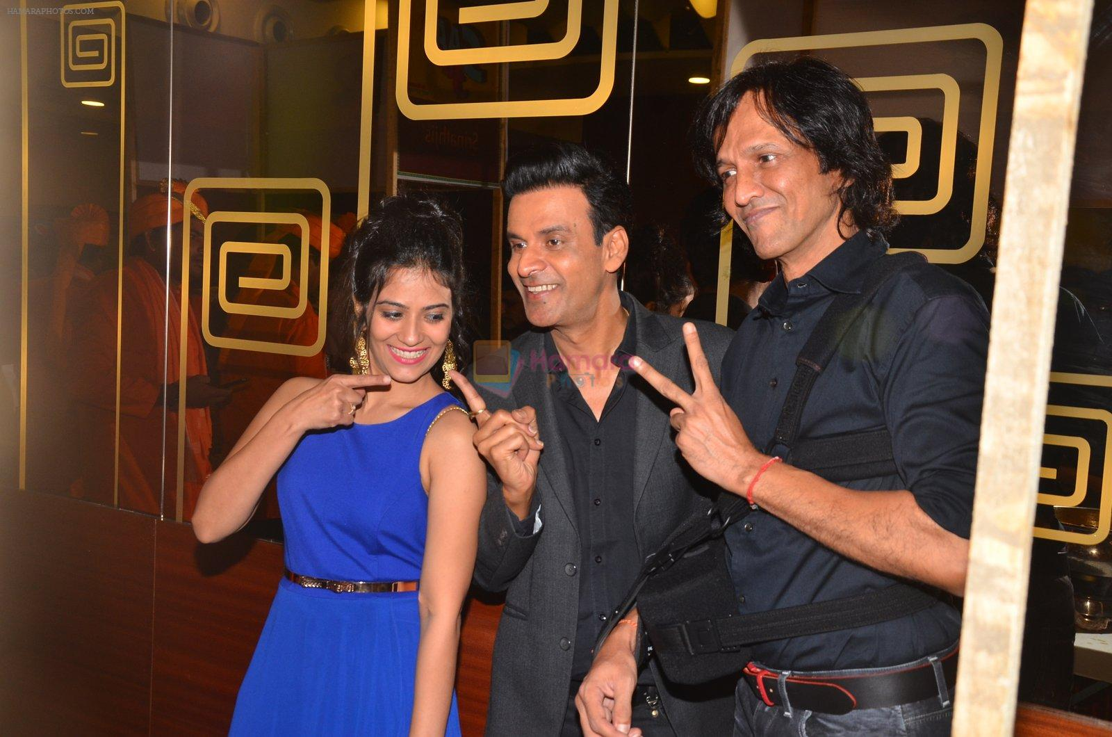 Manoj Bajpayee,Aditi Sharma, Kay Kay Menon at Saat Uchakkey film launch on 19th Sept 2016
