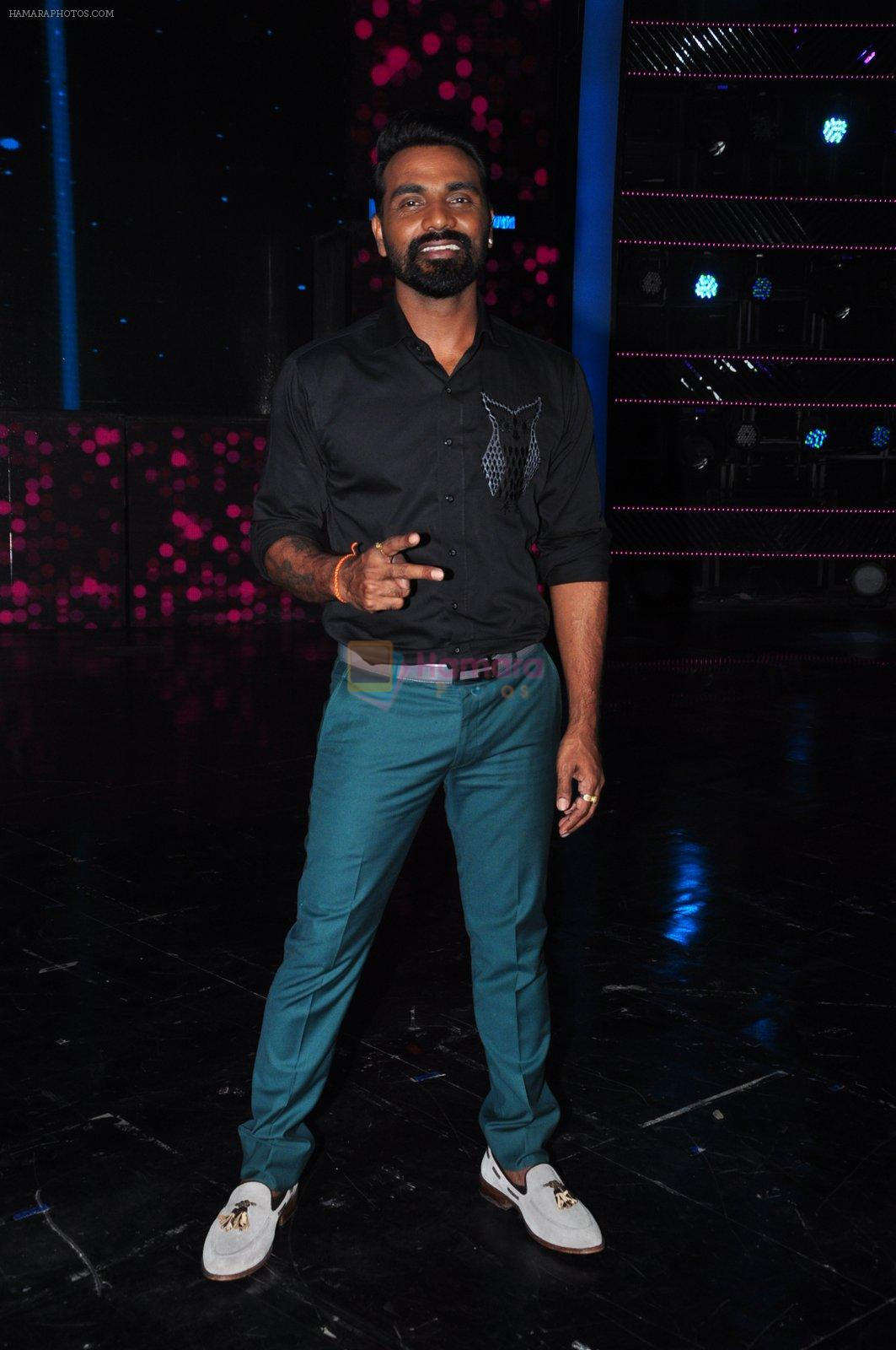 Remo D Souza on the sets of Dance plus on 19th Sept 2016