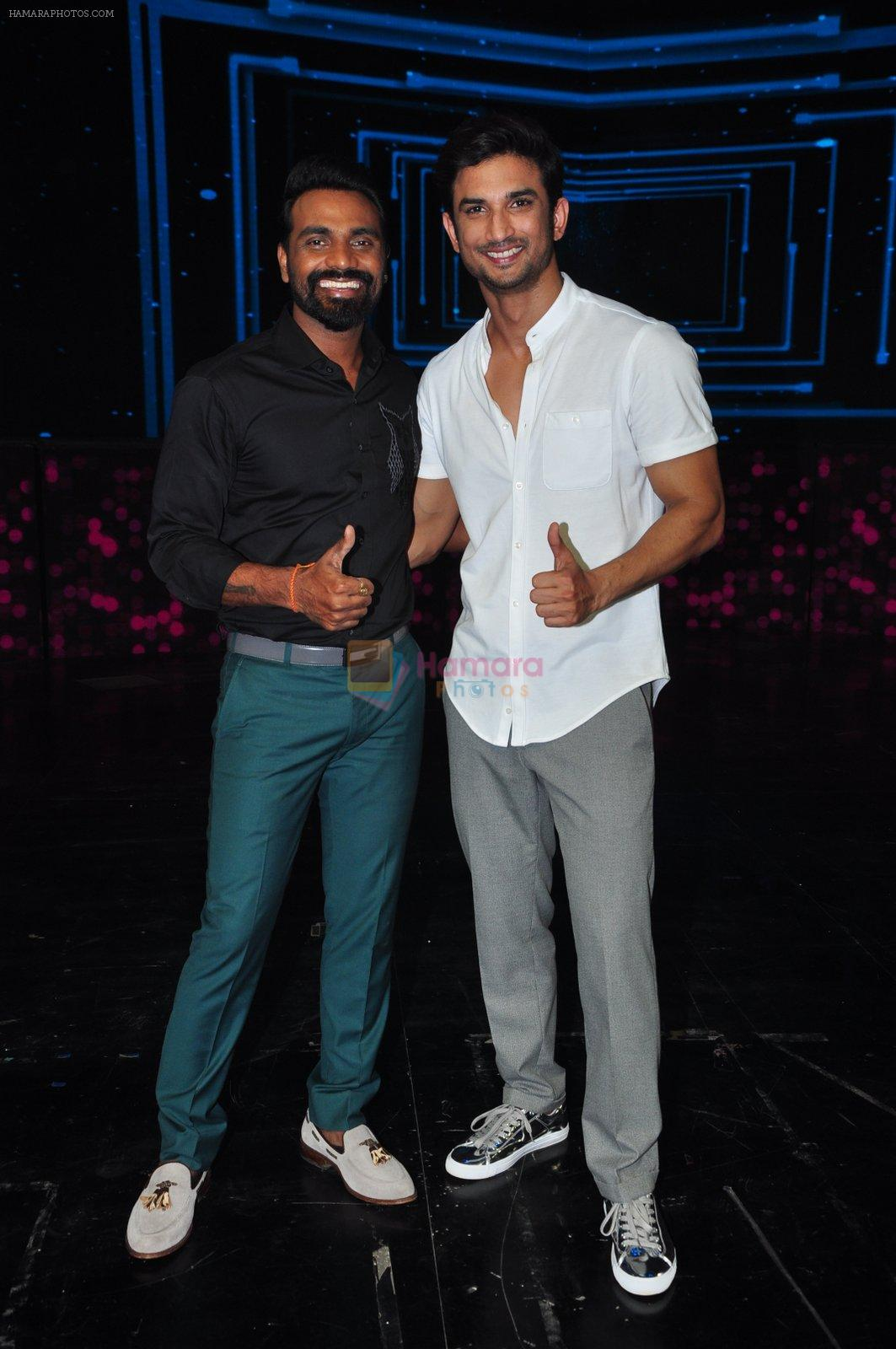 Sushant Singh Rajput on the sets of Dance plus on 19th Sept 2016